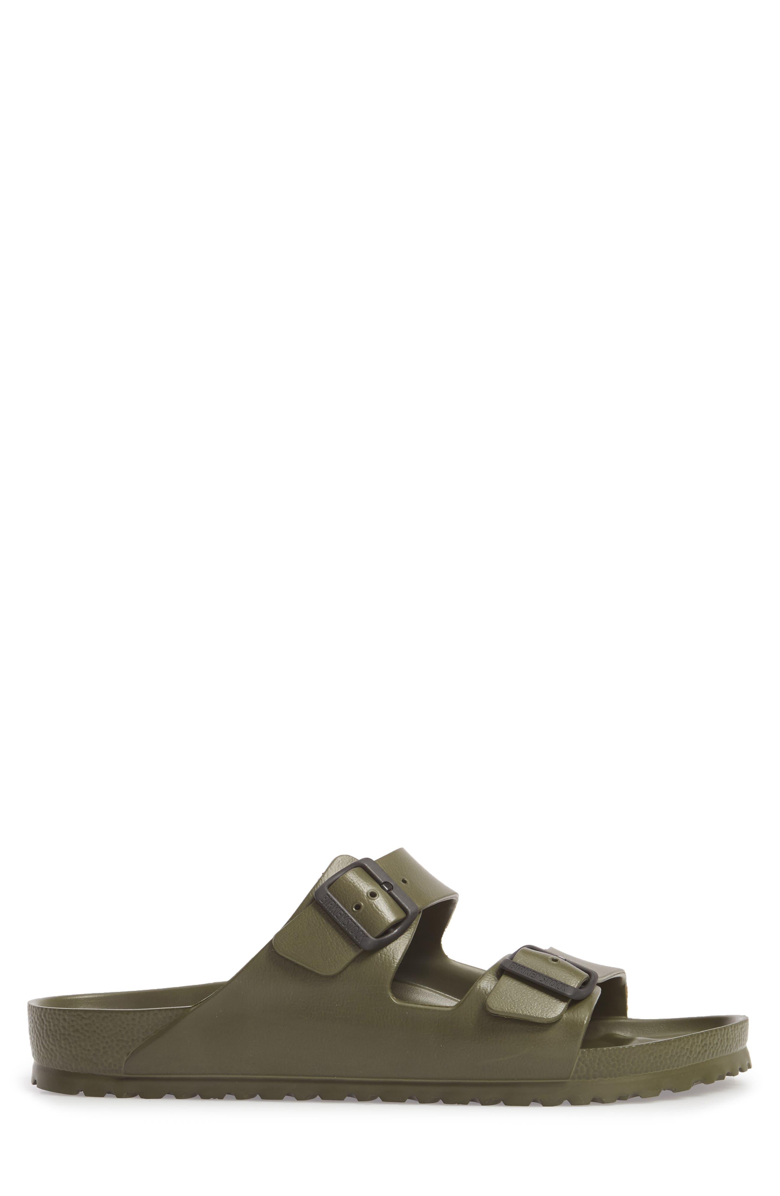 'Essentials - Arizona EVA' Waterproof Slide Sandal,                             Alternate thumbnail 4, color,                             GREEN