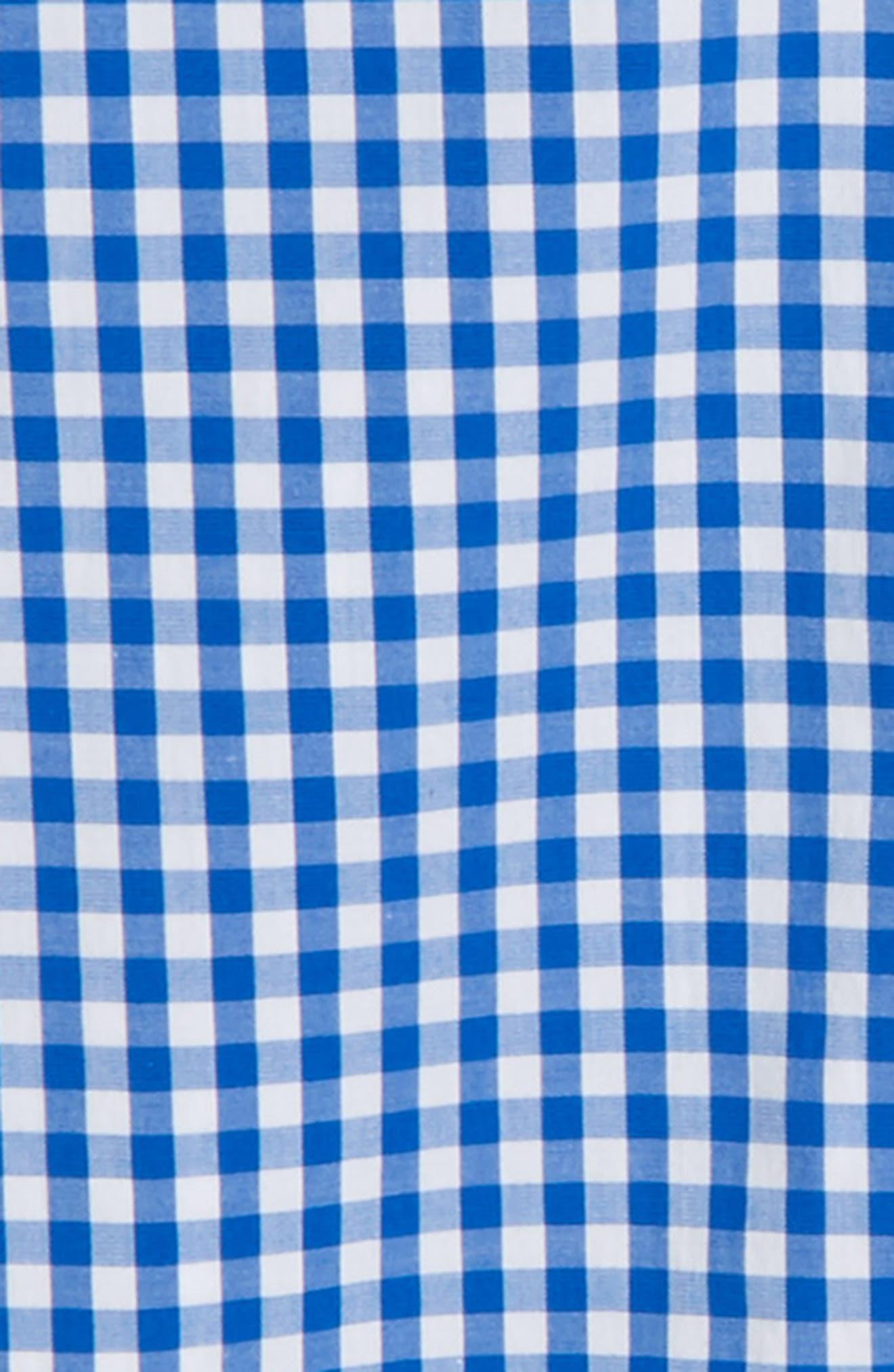 Carleton Gingham Shirt,                             Alternate thumbnail 5, color,
