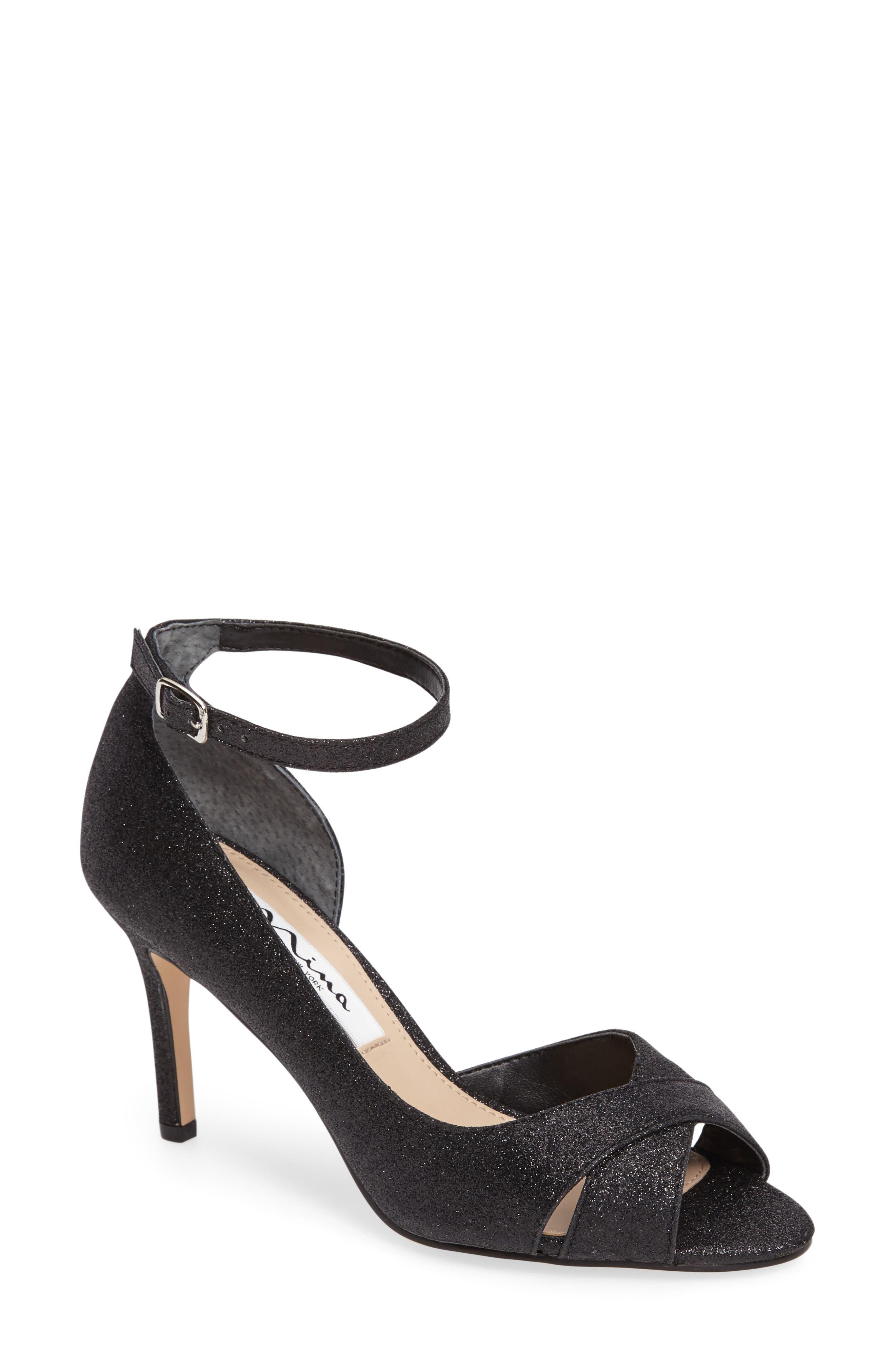 Flo Ankle Strap Sandal, Main, color, 004