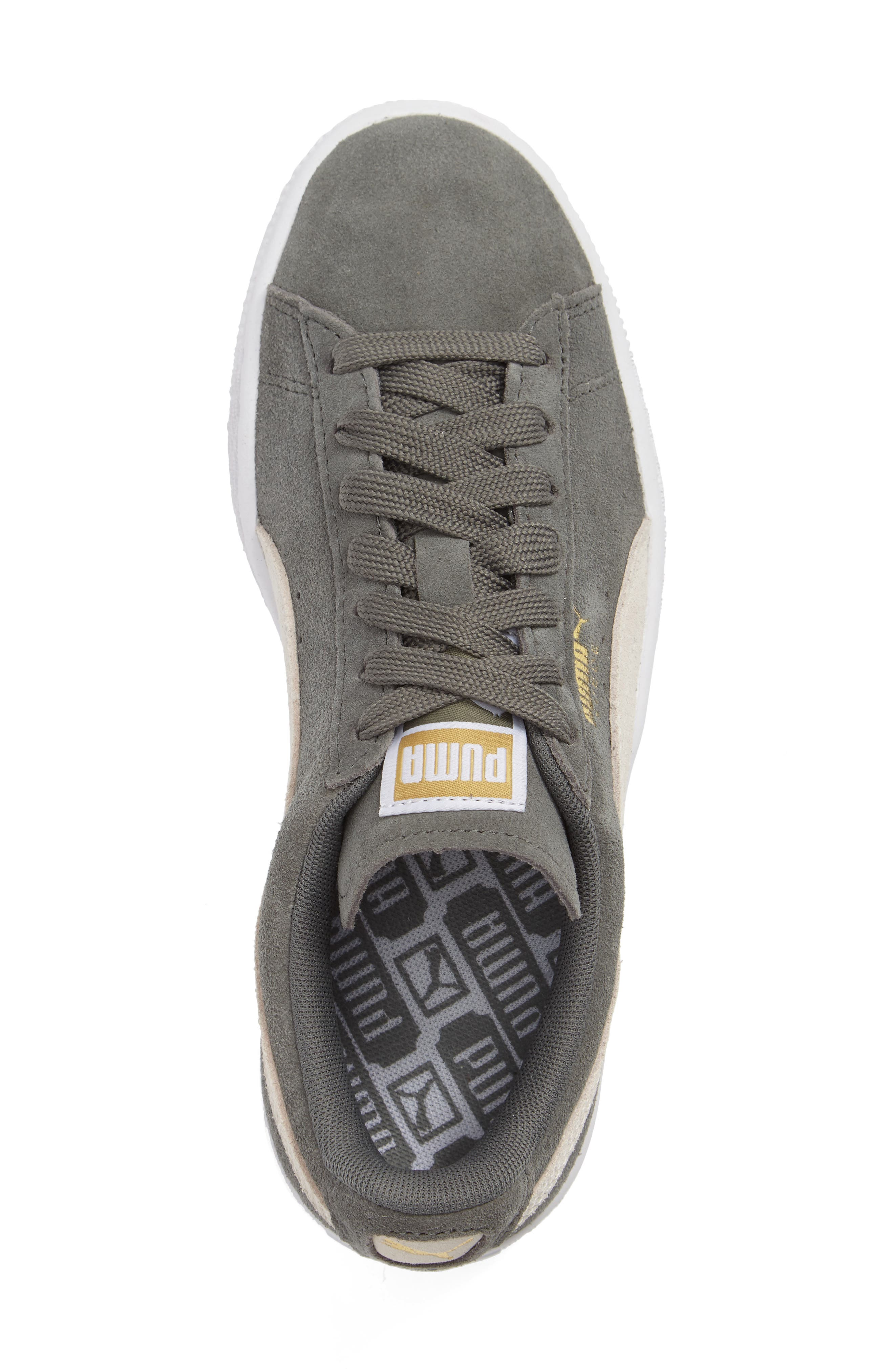 Suede Sneaker,                             Alternate thumbnail 68, color,