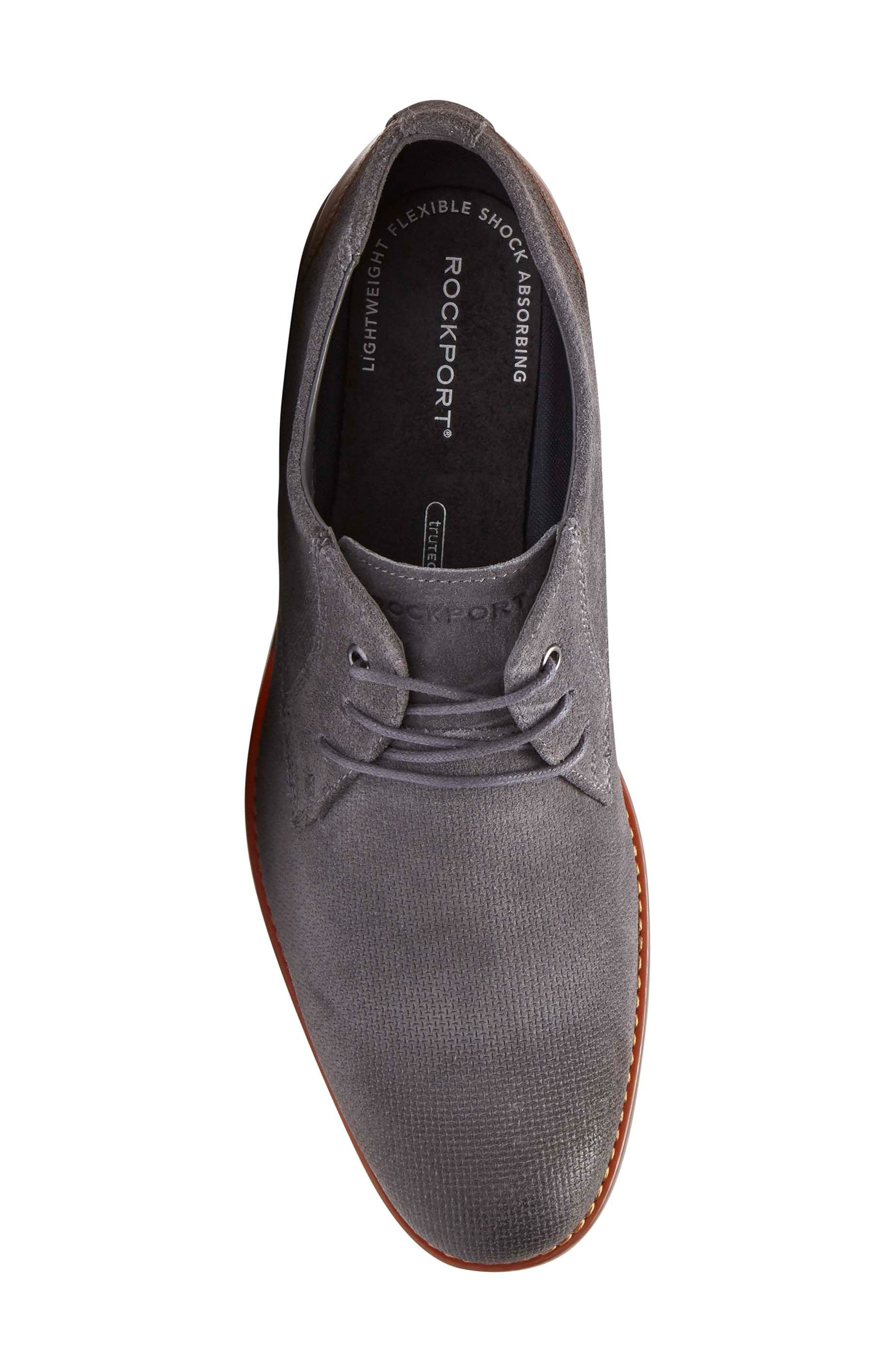 Style Purpose Plain Toe Derby,                             Alternate thumbnail 5, color,                             020