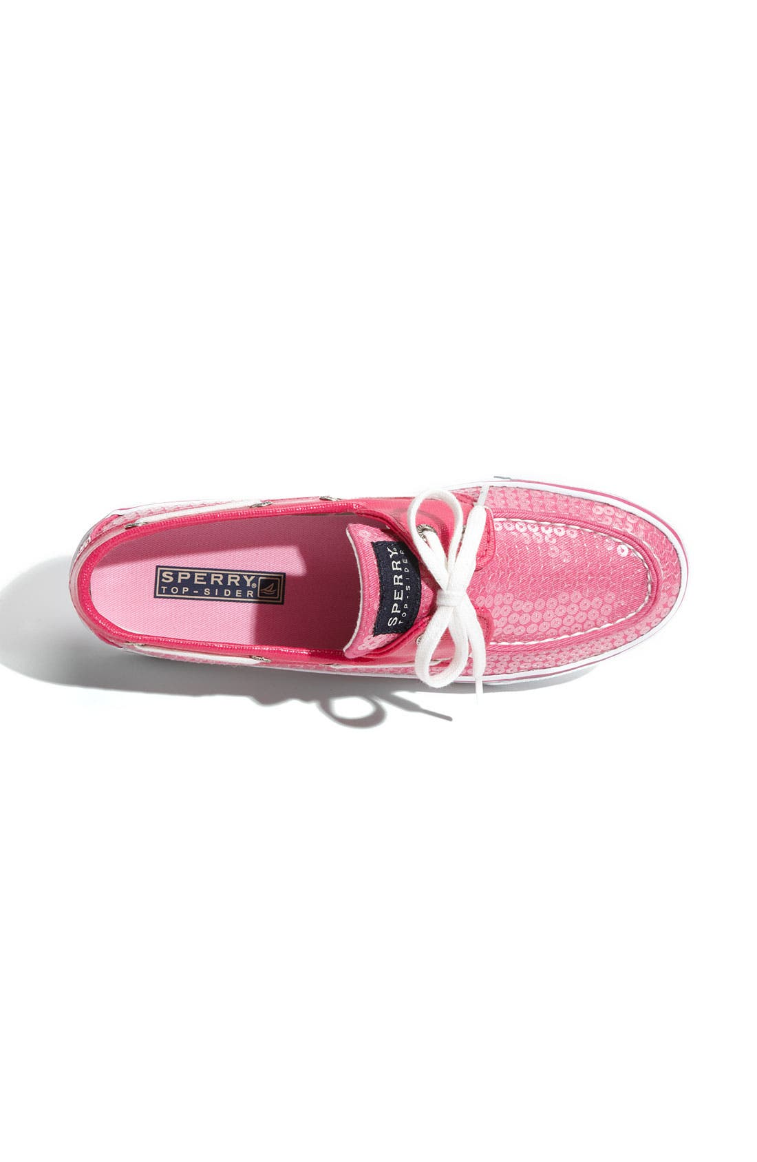 Top-Sider<sup>®</sup> 'Bahama' Sequined Boat Shoe,                             Alternate thumbnail 79, color,