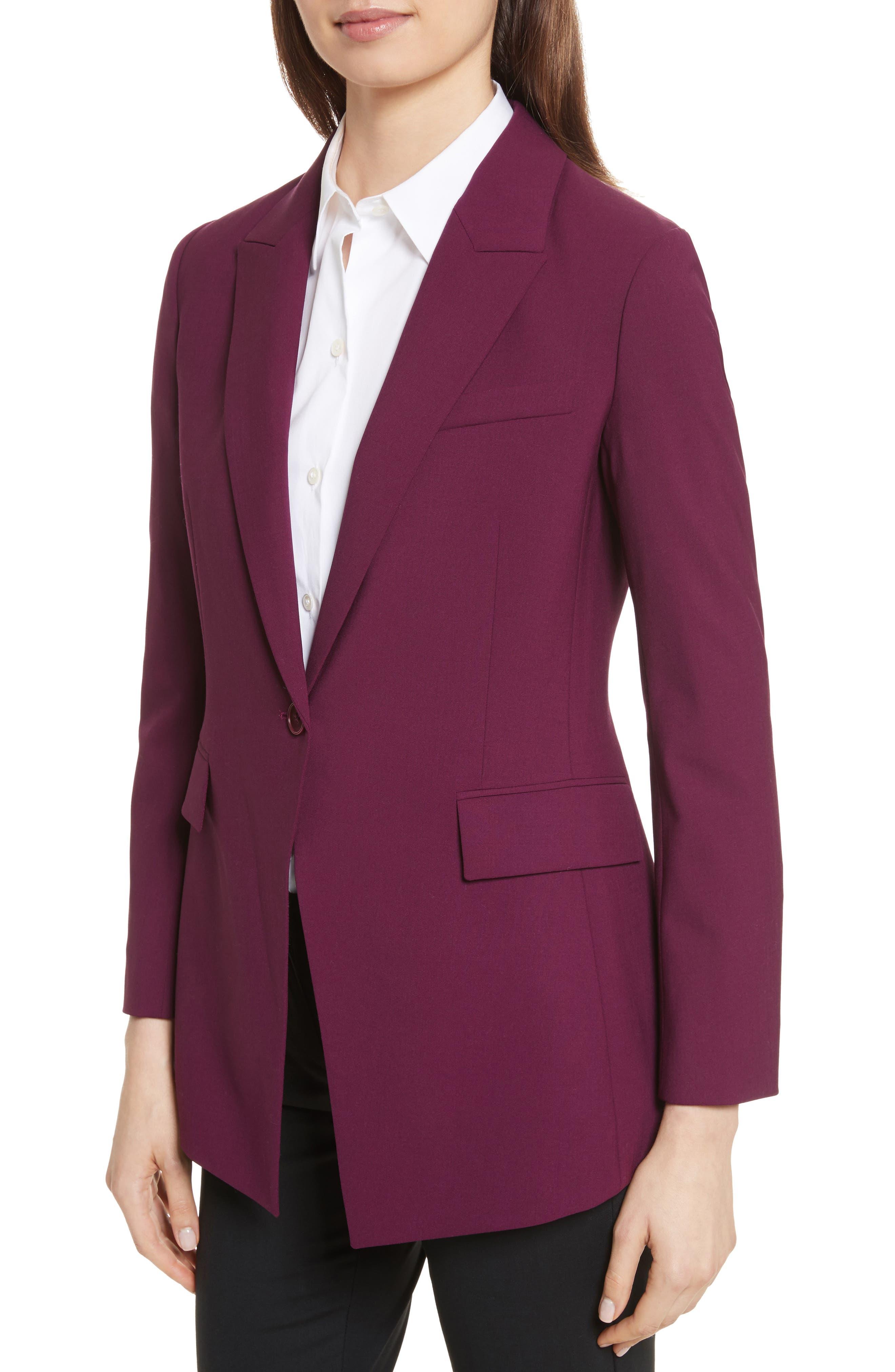 Etienette B Good Wool Suit Jacket,                             Alternate thumbnail 29, color,