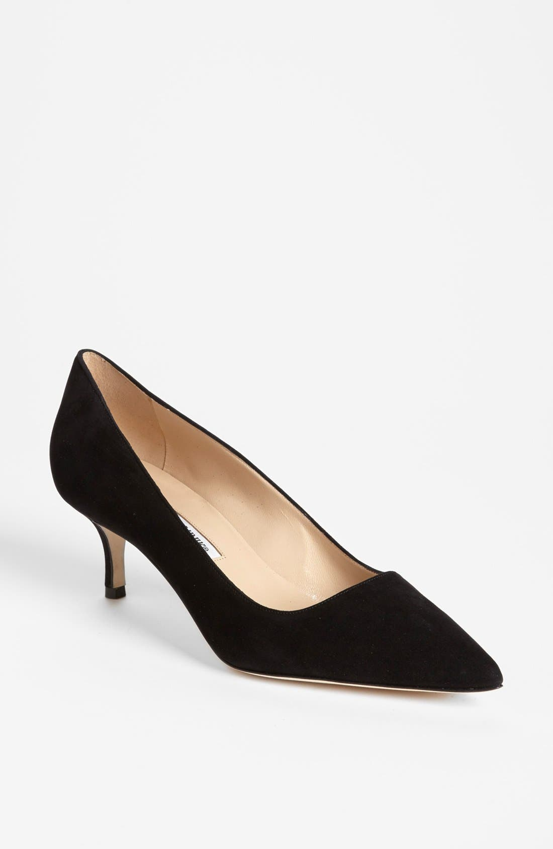 'BB' Pump, Main, color, BLACK