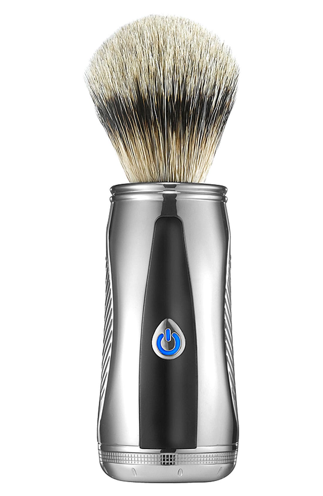 'Power Shave Collection' Fine Badger Power Brush,                             Main thumbnail 1, color,                             000