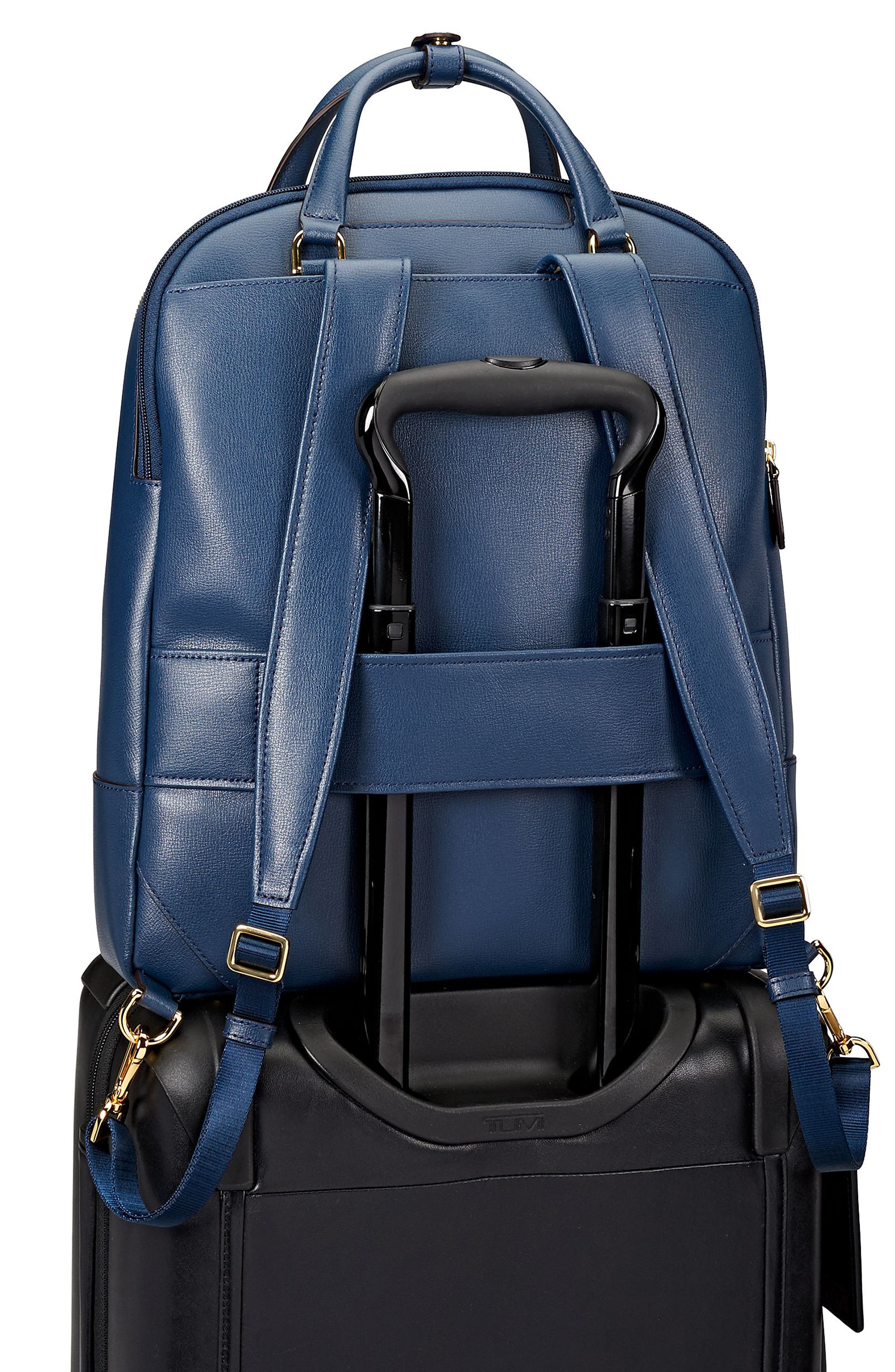 Stanton Orion Leather Backpack,                             Alternate thumbnail 16, color,