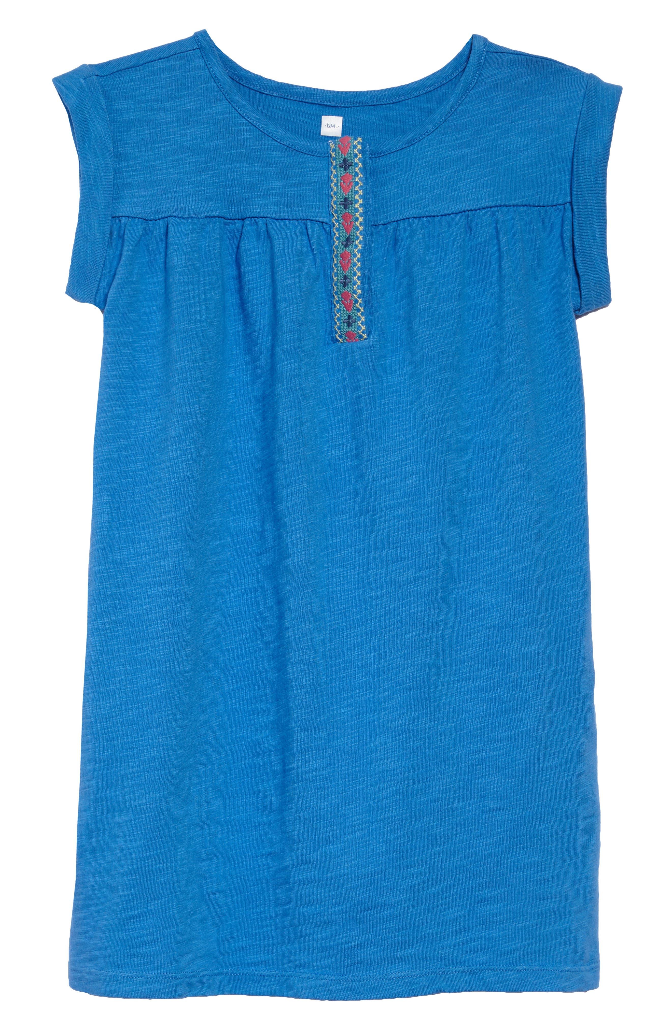 Placket Trim Dress,                             Main thumbnail 1, color,                             467