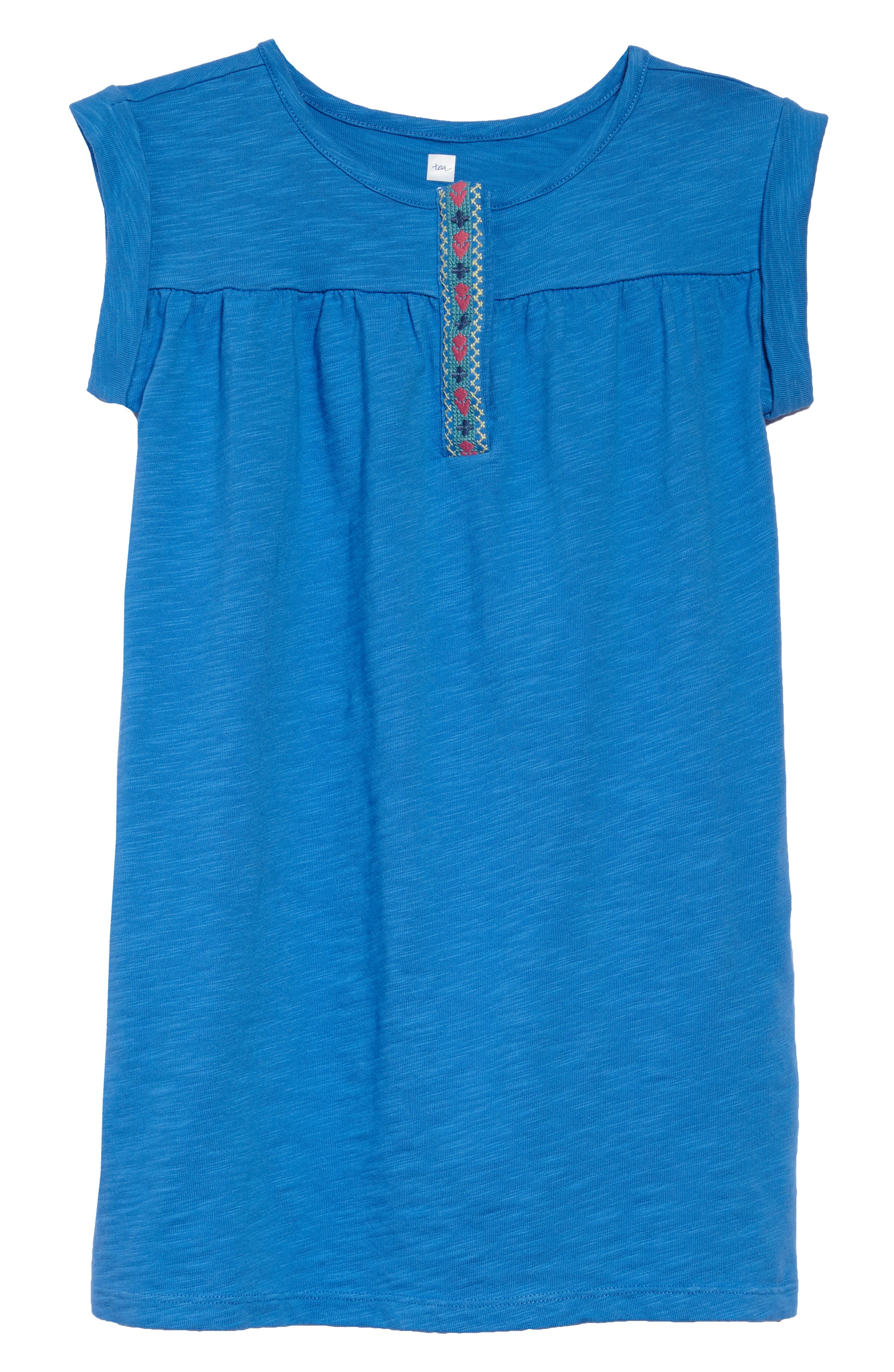 Placket Trim Dress,                         Main,                         color, 467