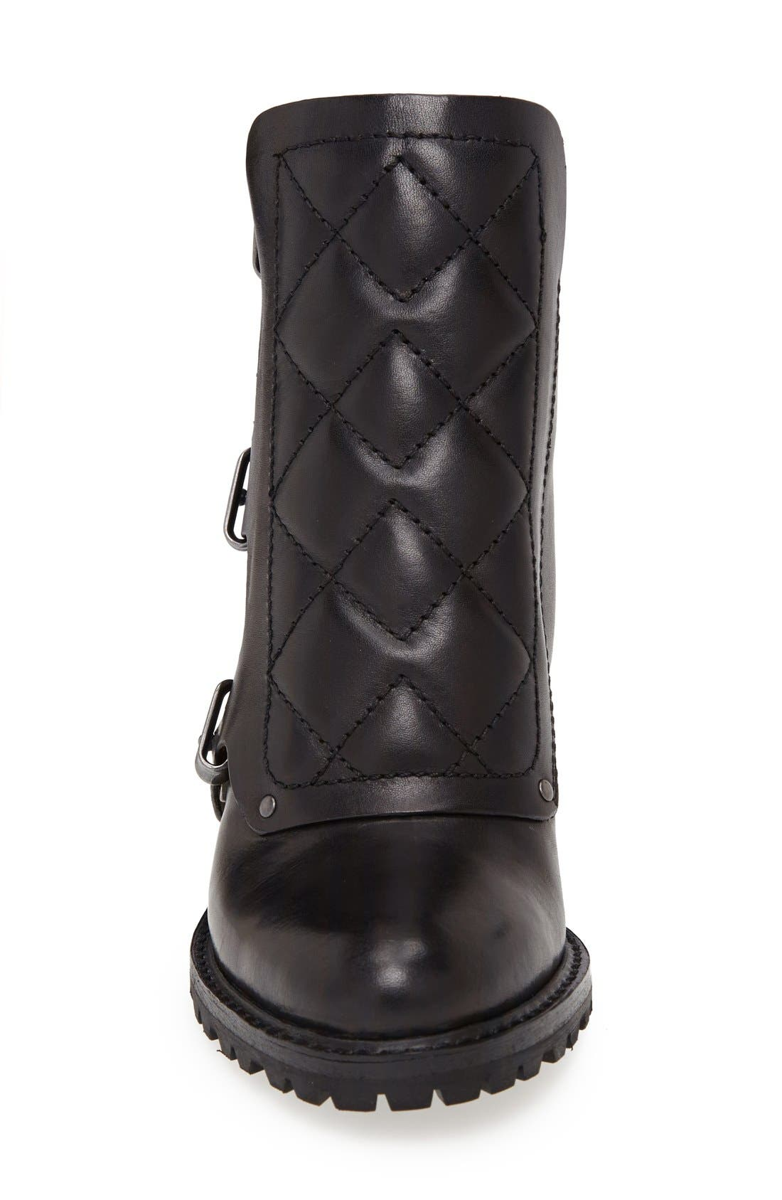MARC BY MARC JACOBS Ankle Boot,                             Alternate thumbnail 3, color,                             001
