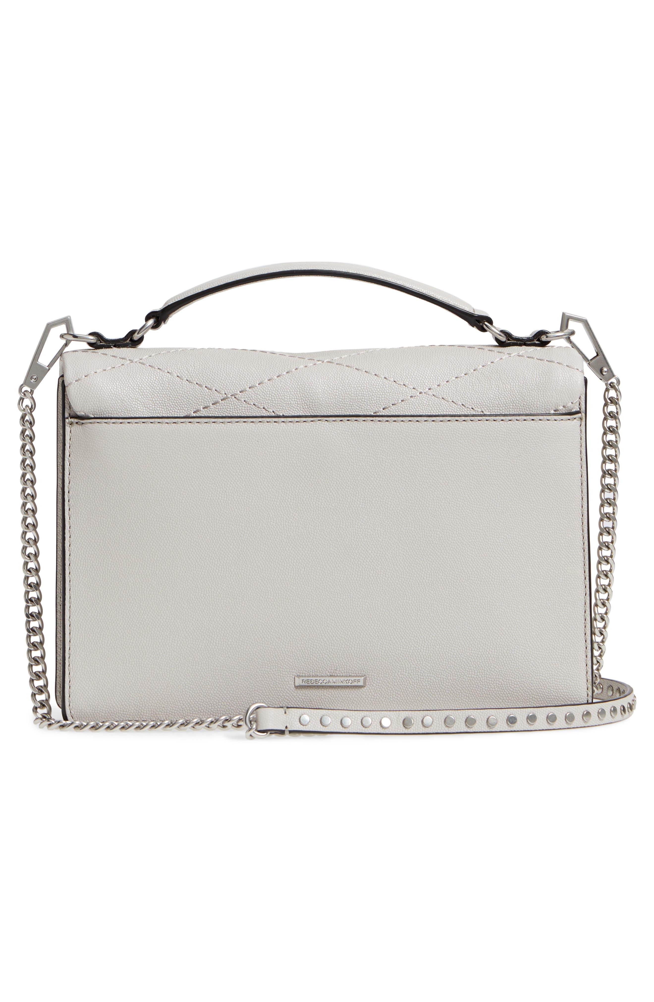 Medium Je T'aime Convertible Leather Crossbody Bag,                             Alternate thumbnail 30, color,