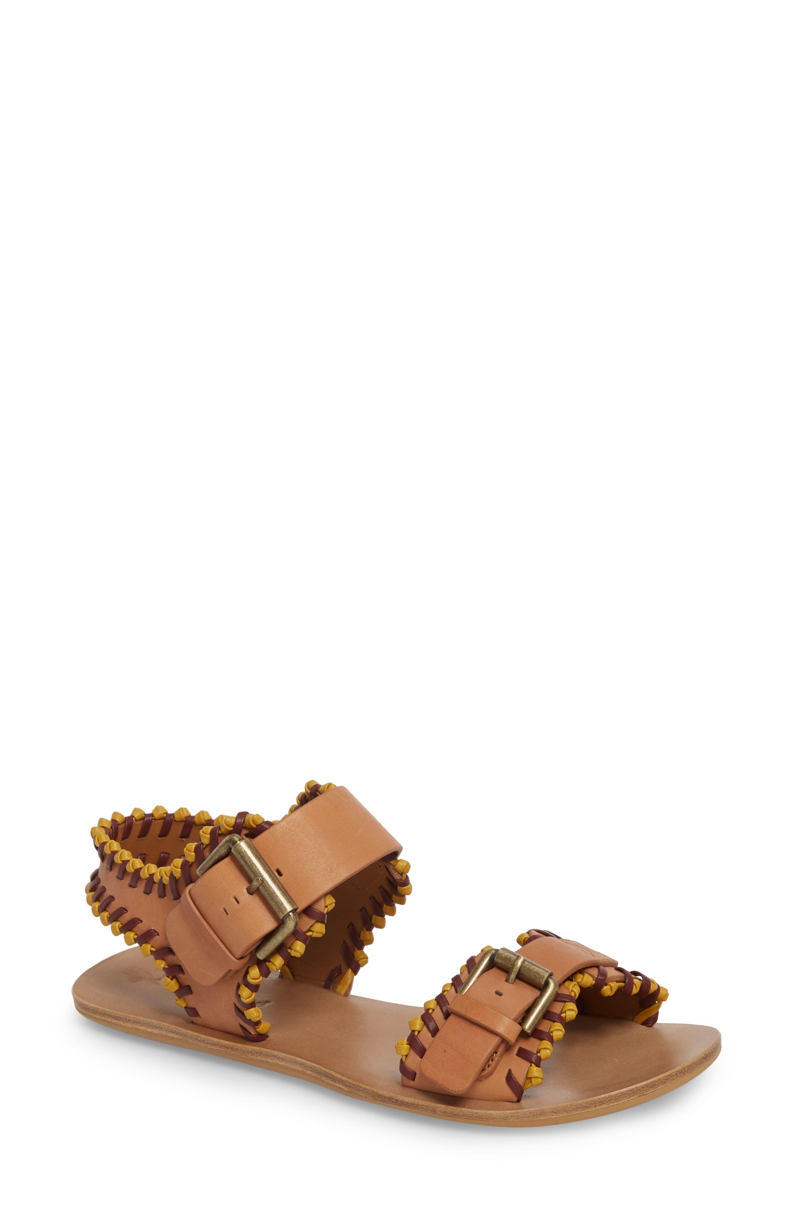 Romy Flat Sandal,                         Main,                         color, 230
