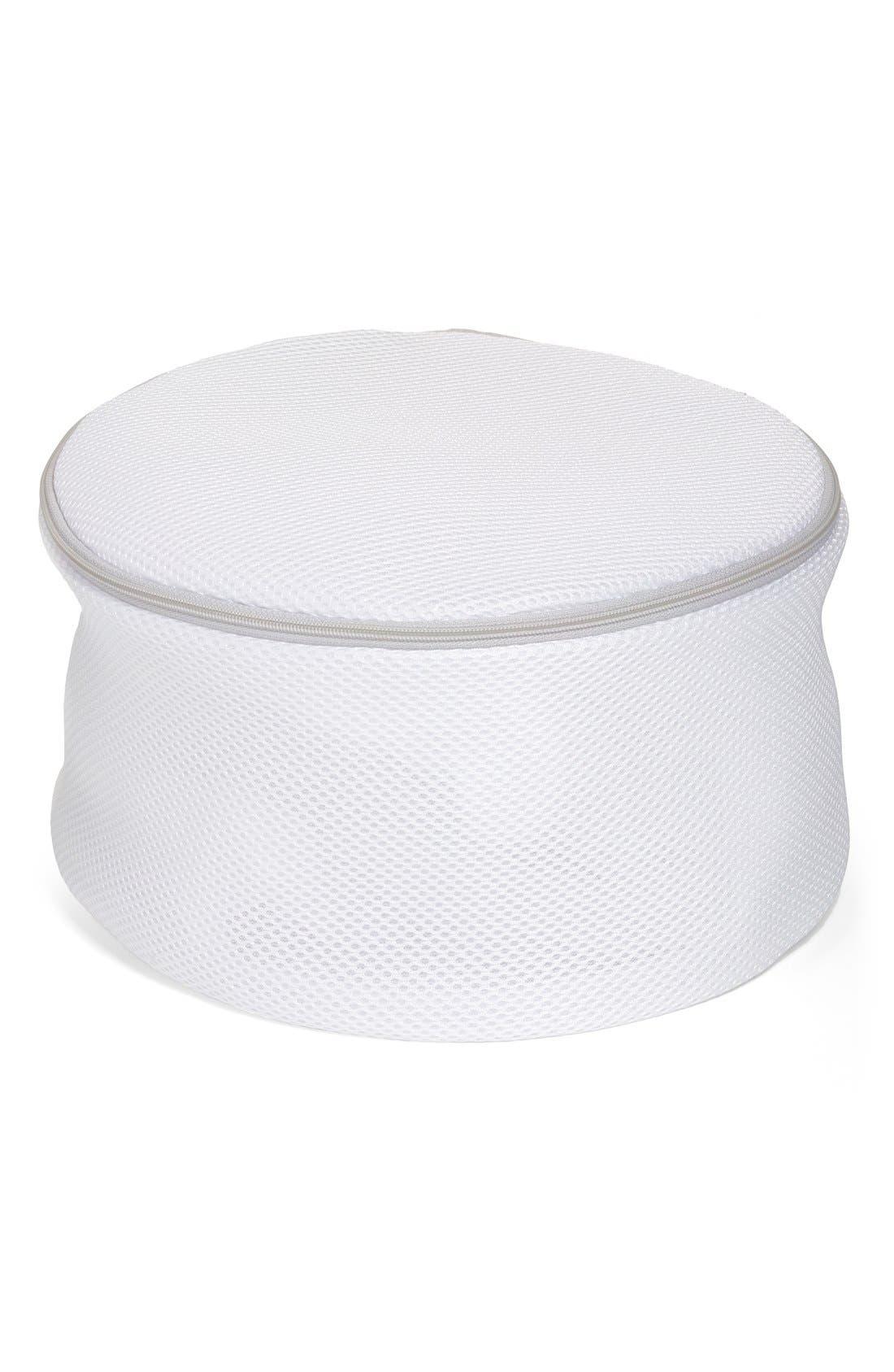'Bra Saver' Wash Bag,                         Main,                         color, WHITE