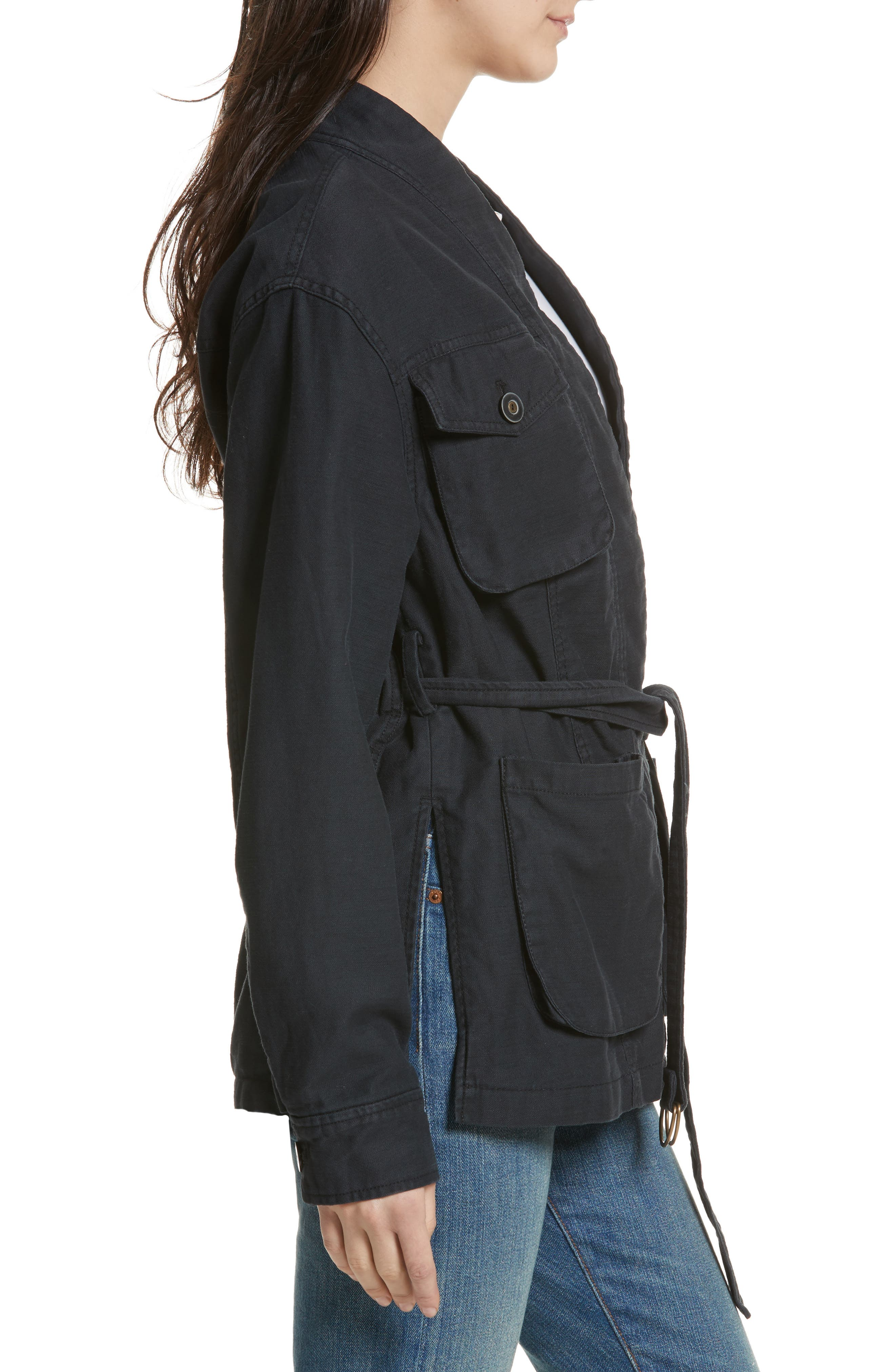In our Nature Cargo Jacket,                             Alternate thumbnail 3, color,                             001
