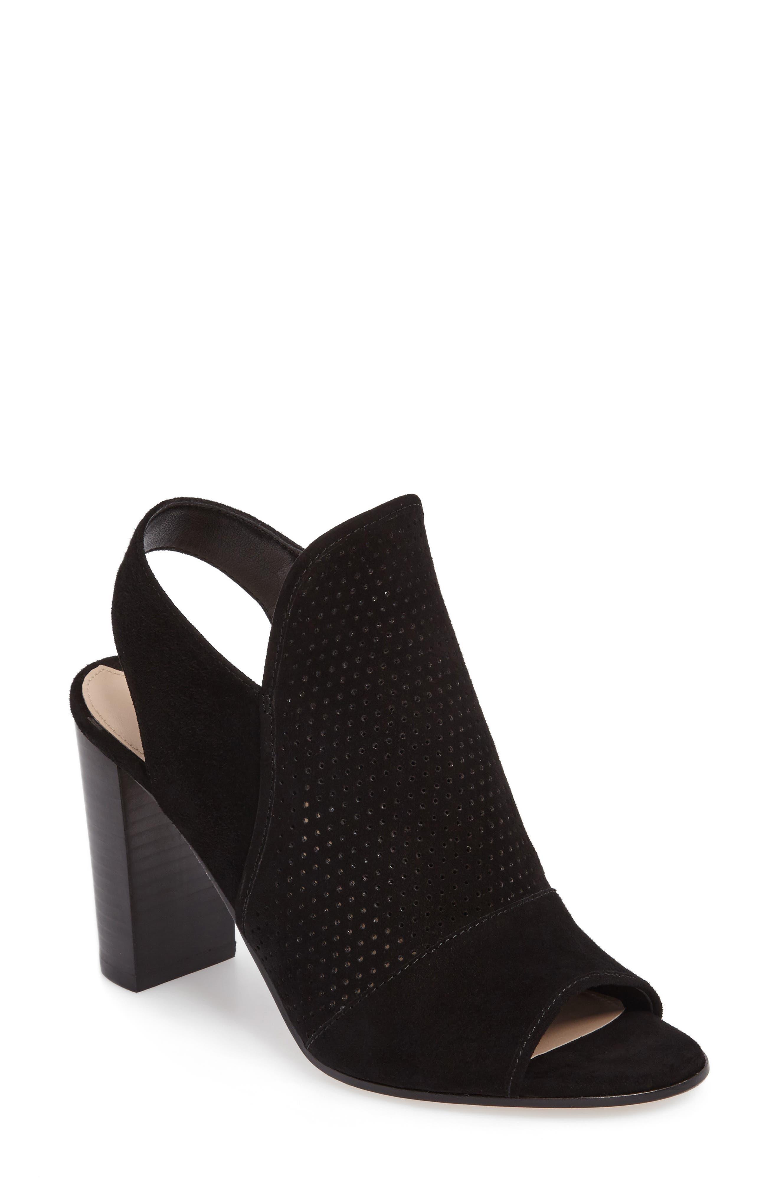 Gaze Block Heel Sandal,                             Main thumbnail 1, color,                             001