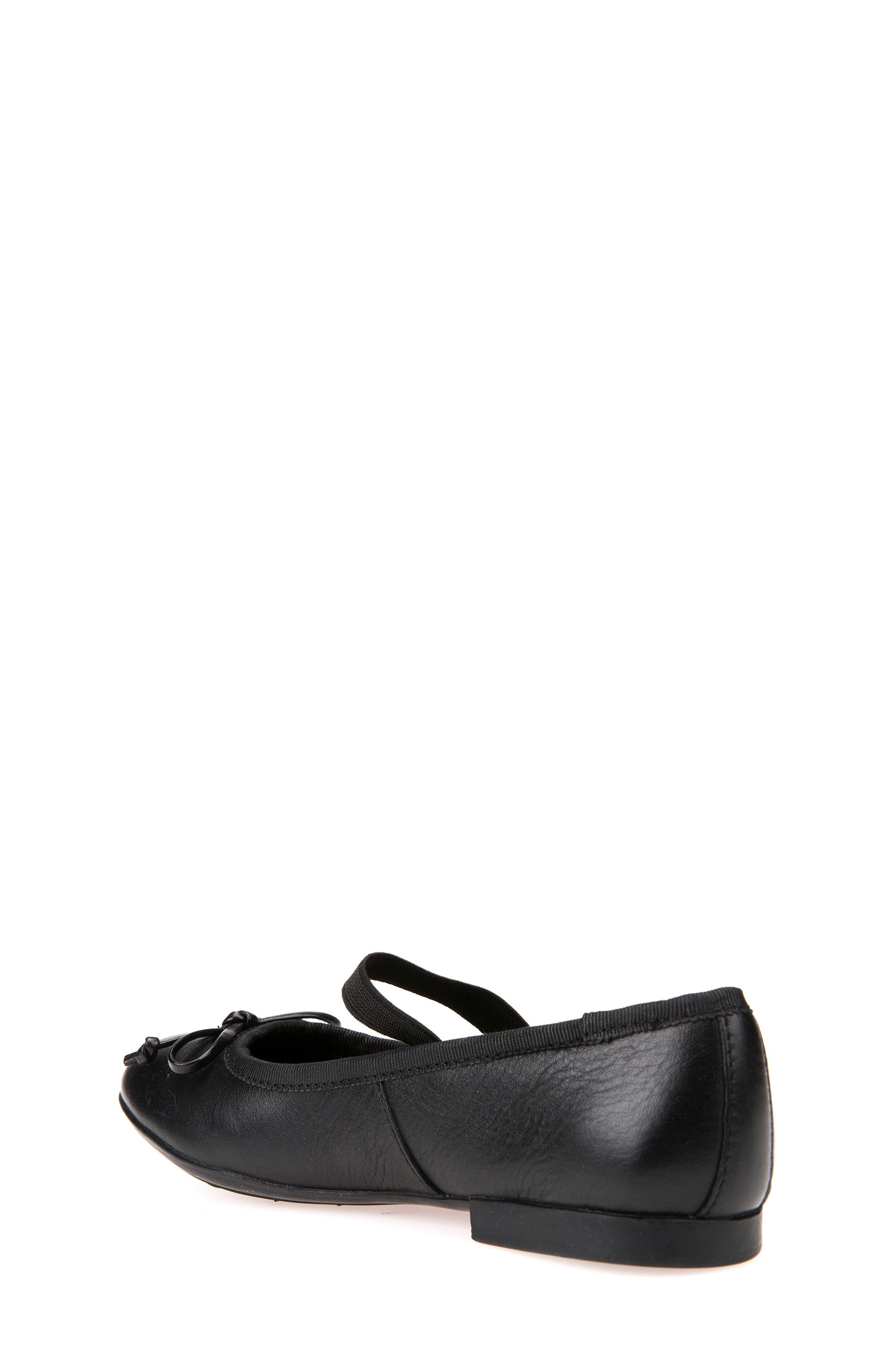 Plie Leather Ballet Flat,                             Alternate thumbnail 2, color,                             BLACK