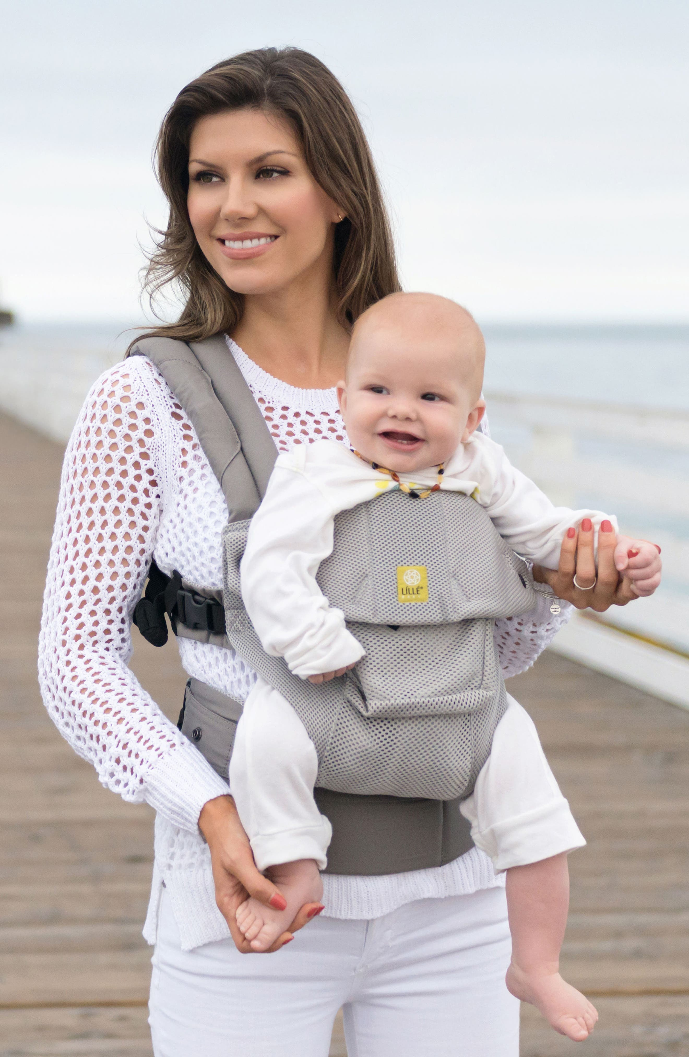 'Airflow' Baby Carrier,                             Alternate thumbnail 2, color,                             GREY MIST