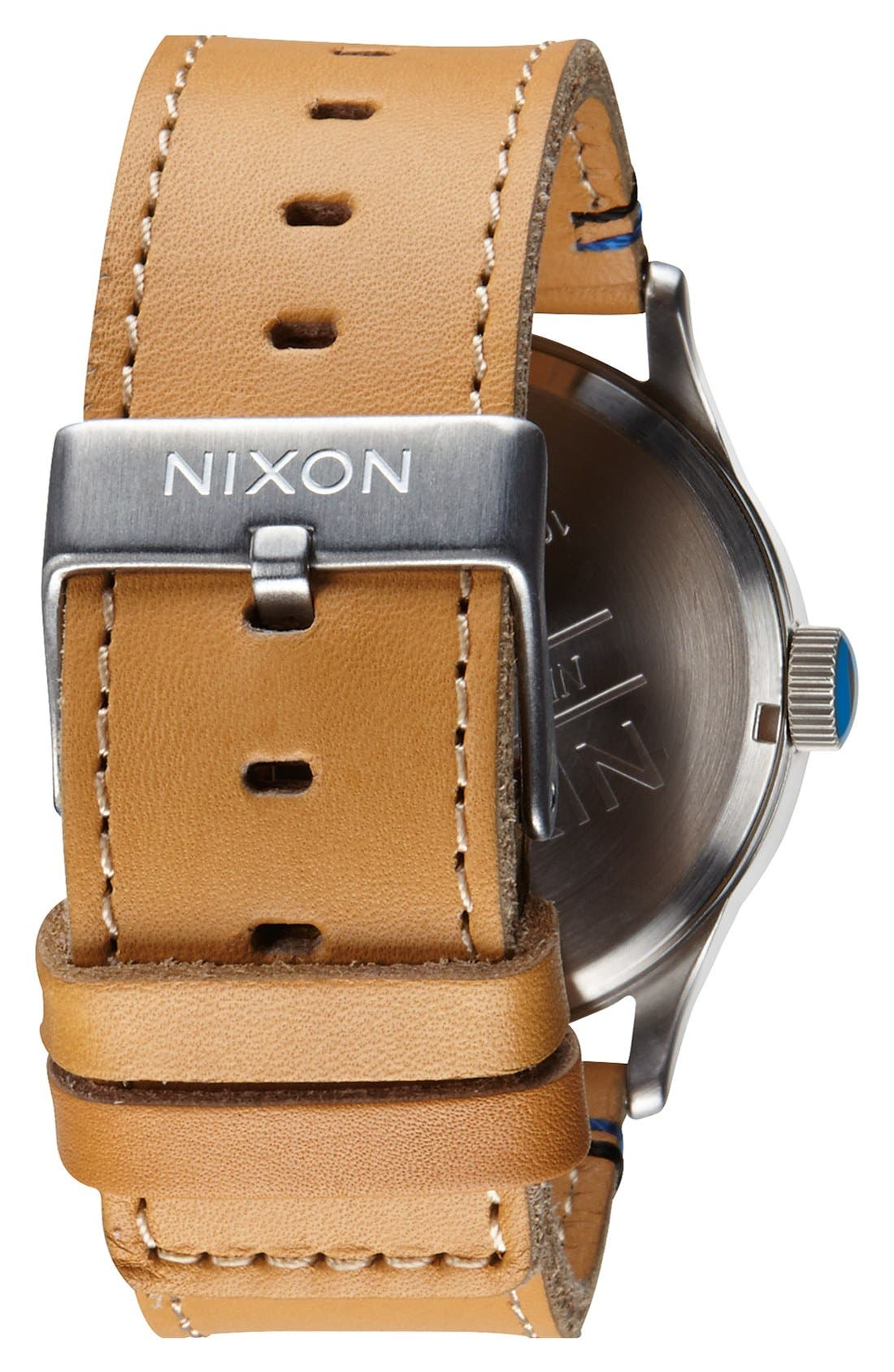 The Sentry Leather Strap Watch, 42mm,                             Alternate thumbnail 61, color,