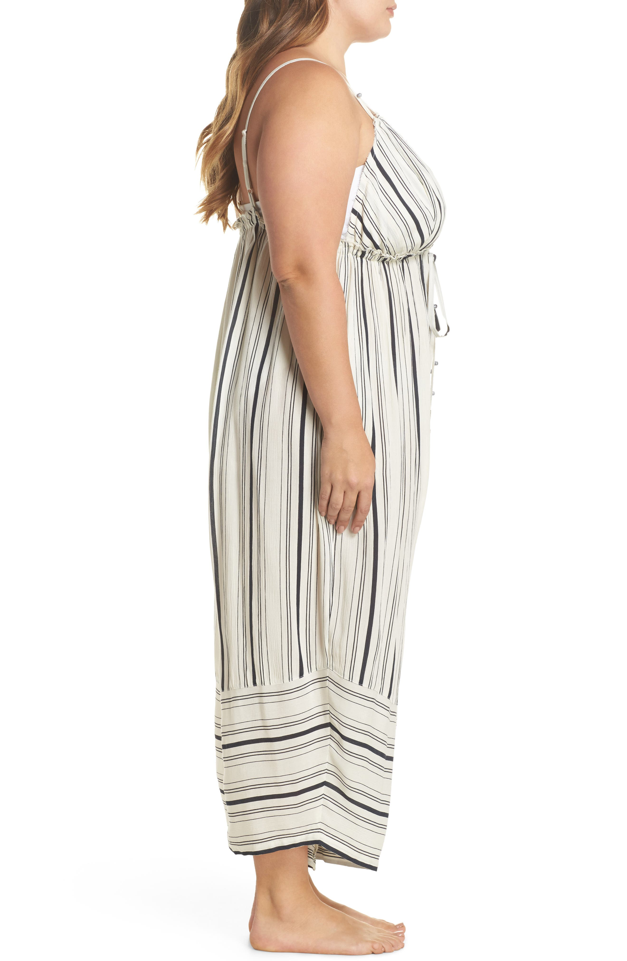 Faustine Cover-Up Jumpsuit,                             Alternate thumbnail 3, color,                             102