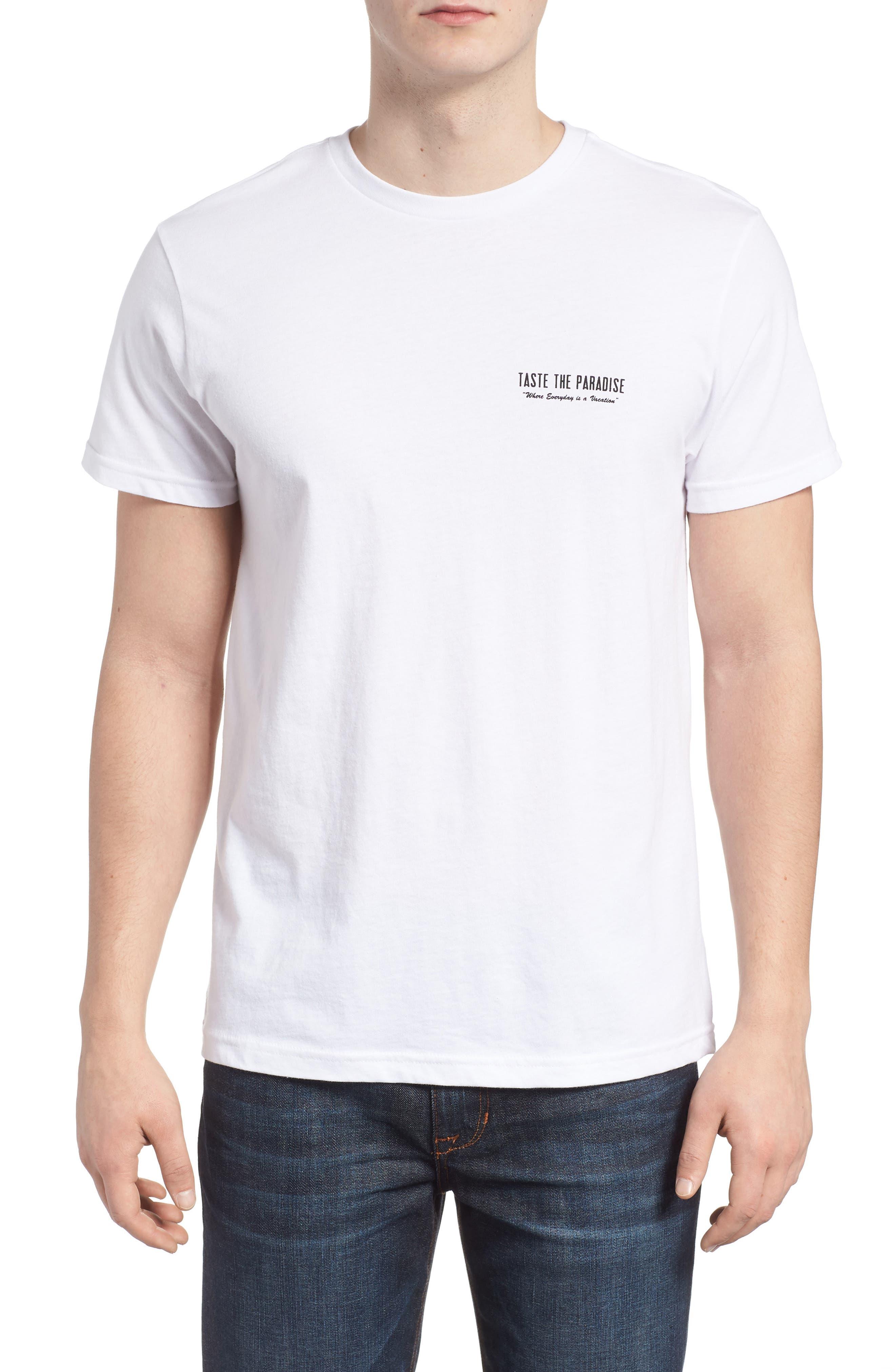 Taste the Paradise Graphic T-Shirt,                         Main,                         color, 100
