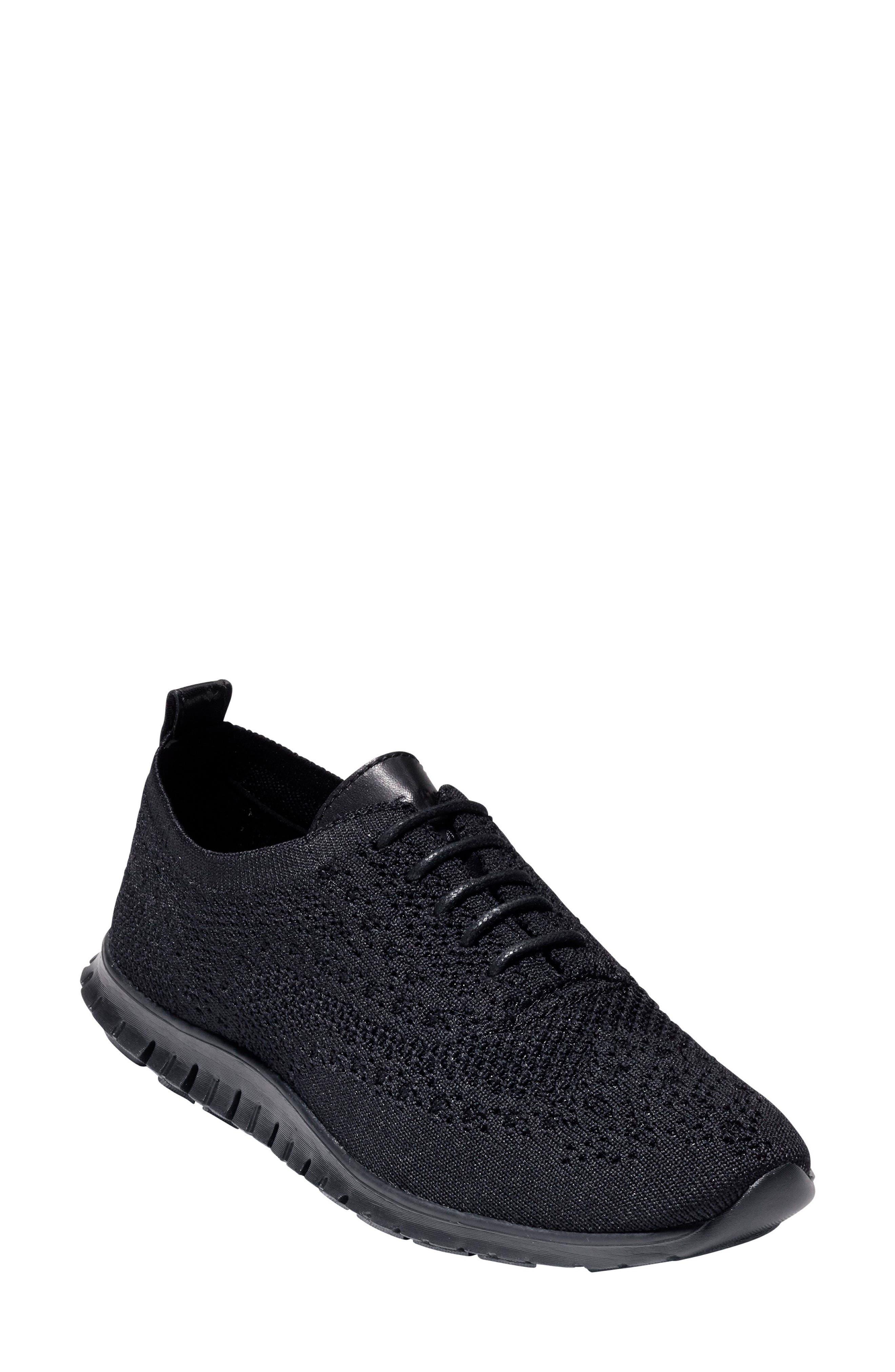 ZERØGRAND Wingtip Sneaker,                         Main,                         color, 001