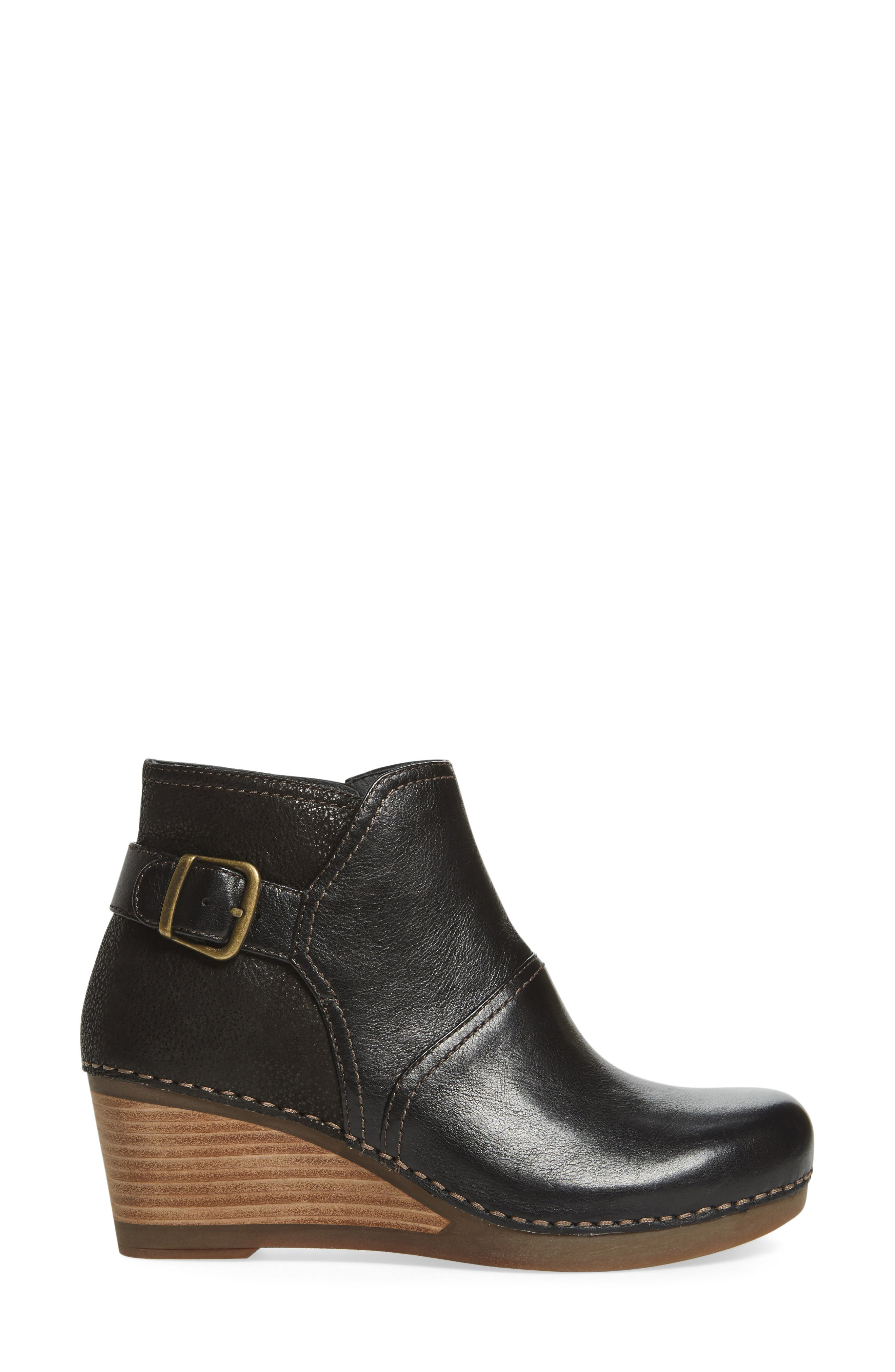 'Shirley' Wedge Bootie,                             Alternate thumbnail 12, color,