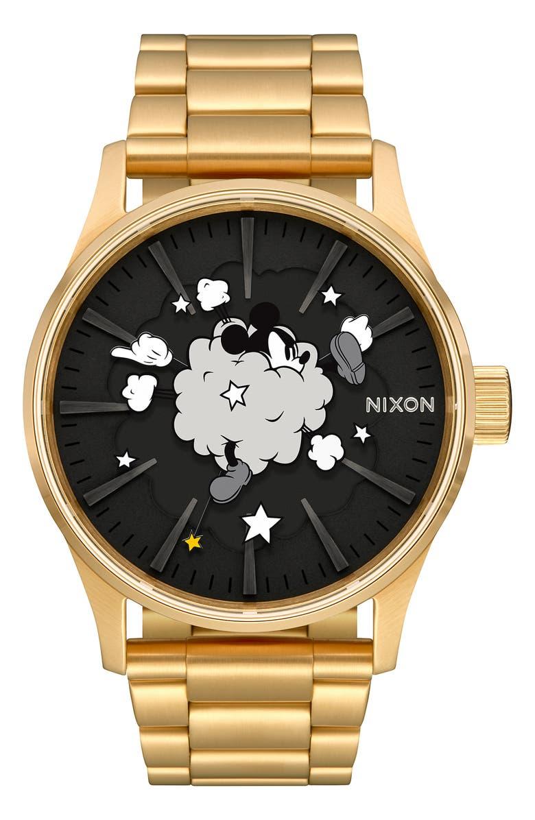 Nixon Bracelets X DISNEY SENTRY FIGHT CLOUD BRACELET WATCH, 42MM