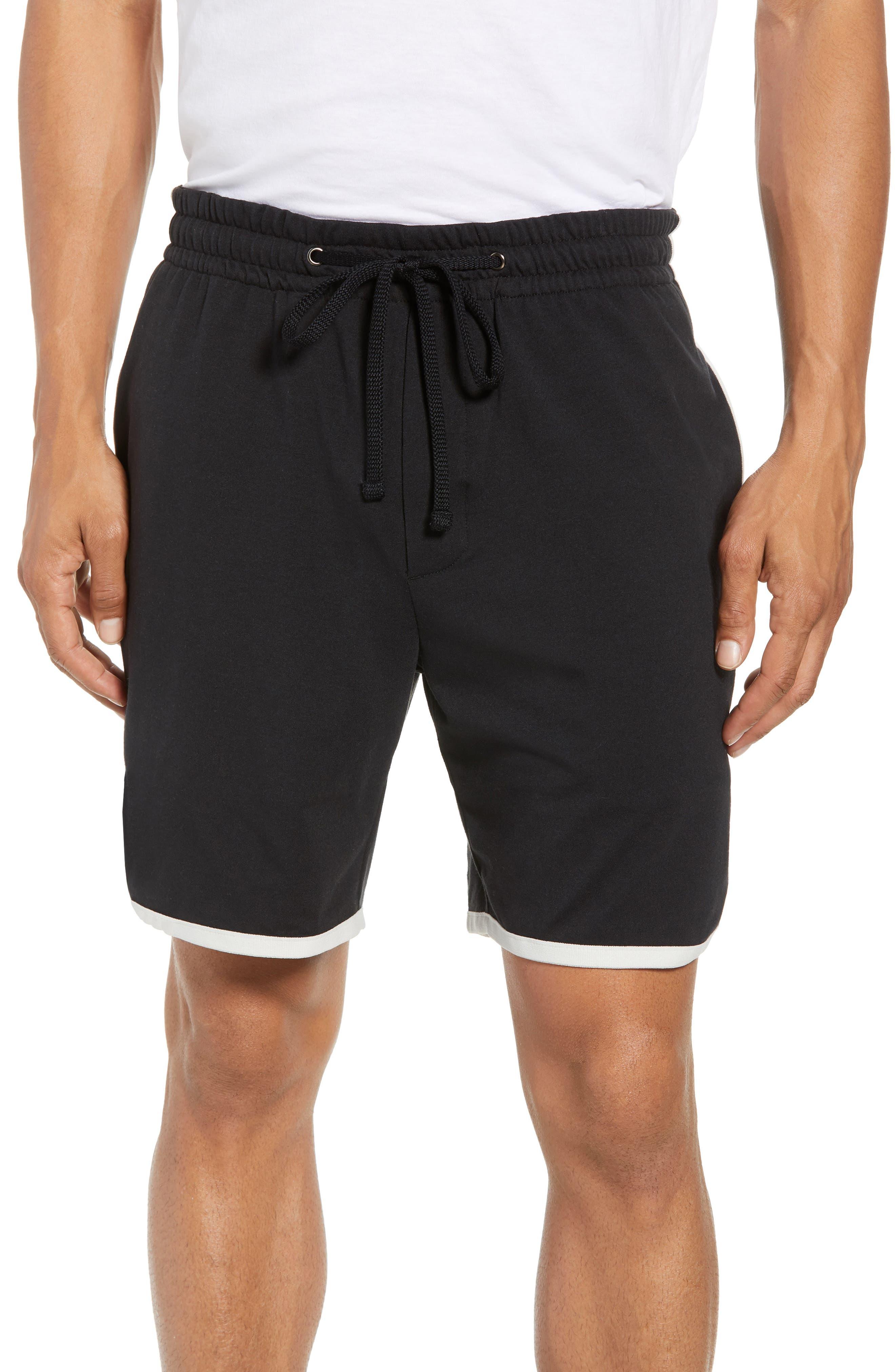 Vintage Regular Fit Gym Shorts,                             Main thumbnail 1, color,                             001