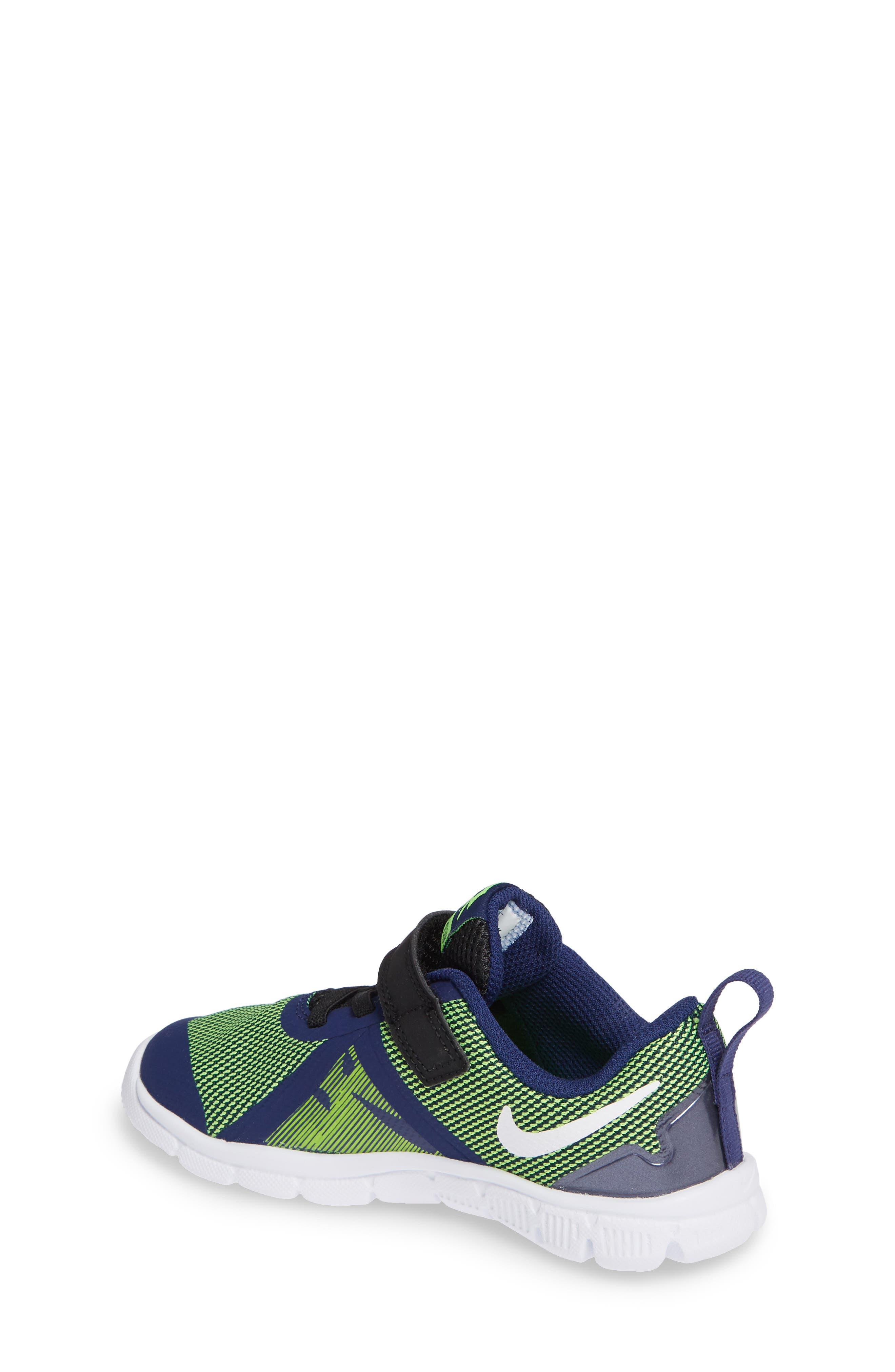 Flex Control II Training Shoe,                             Alternate thumbnail 2, color,                             BLUE/ WHITE/ ELECTRIC GREEN