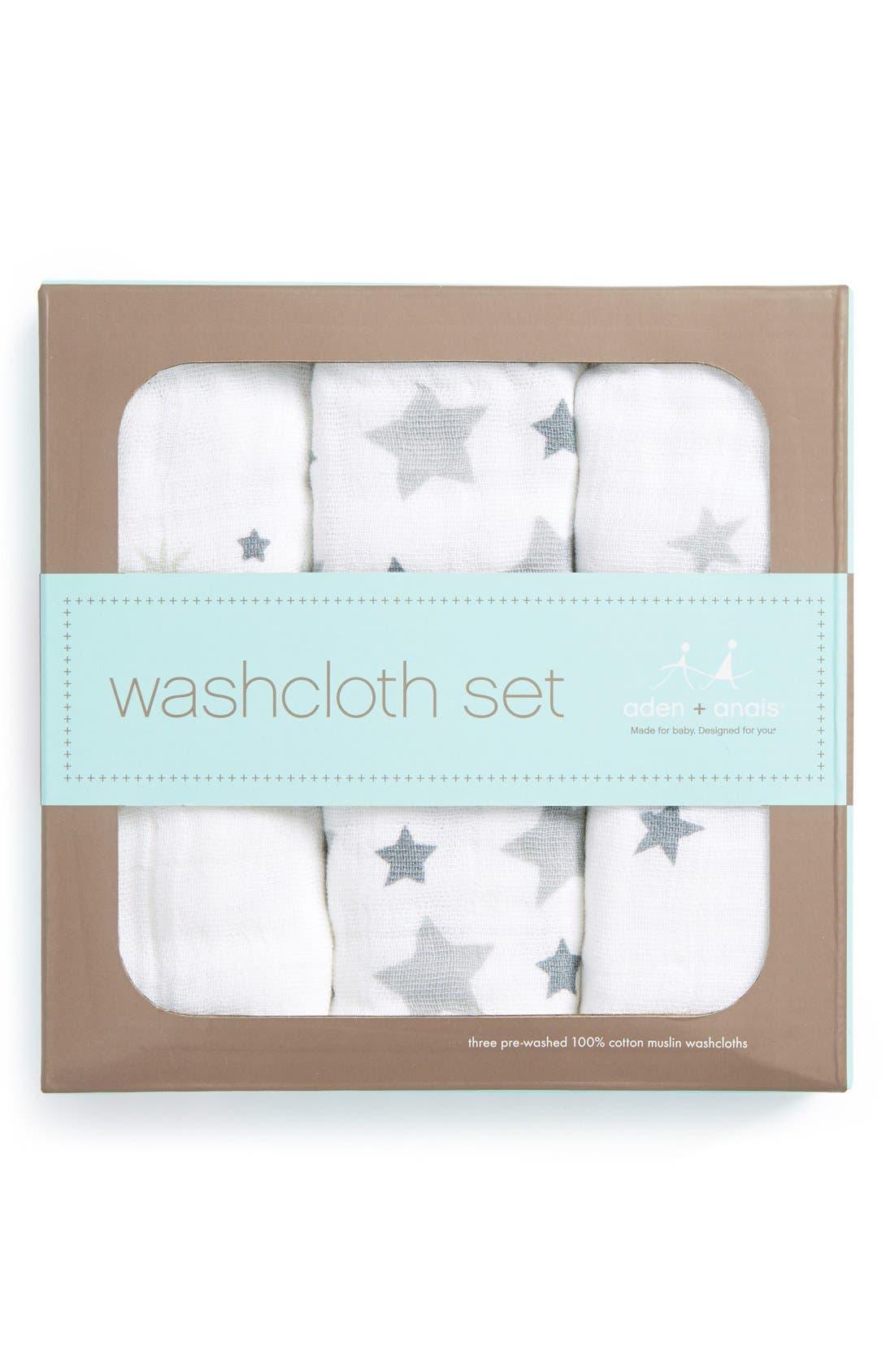 Classic Washcloth Set,                             Alternate thumbnail 2, color,                             021