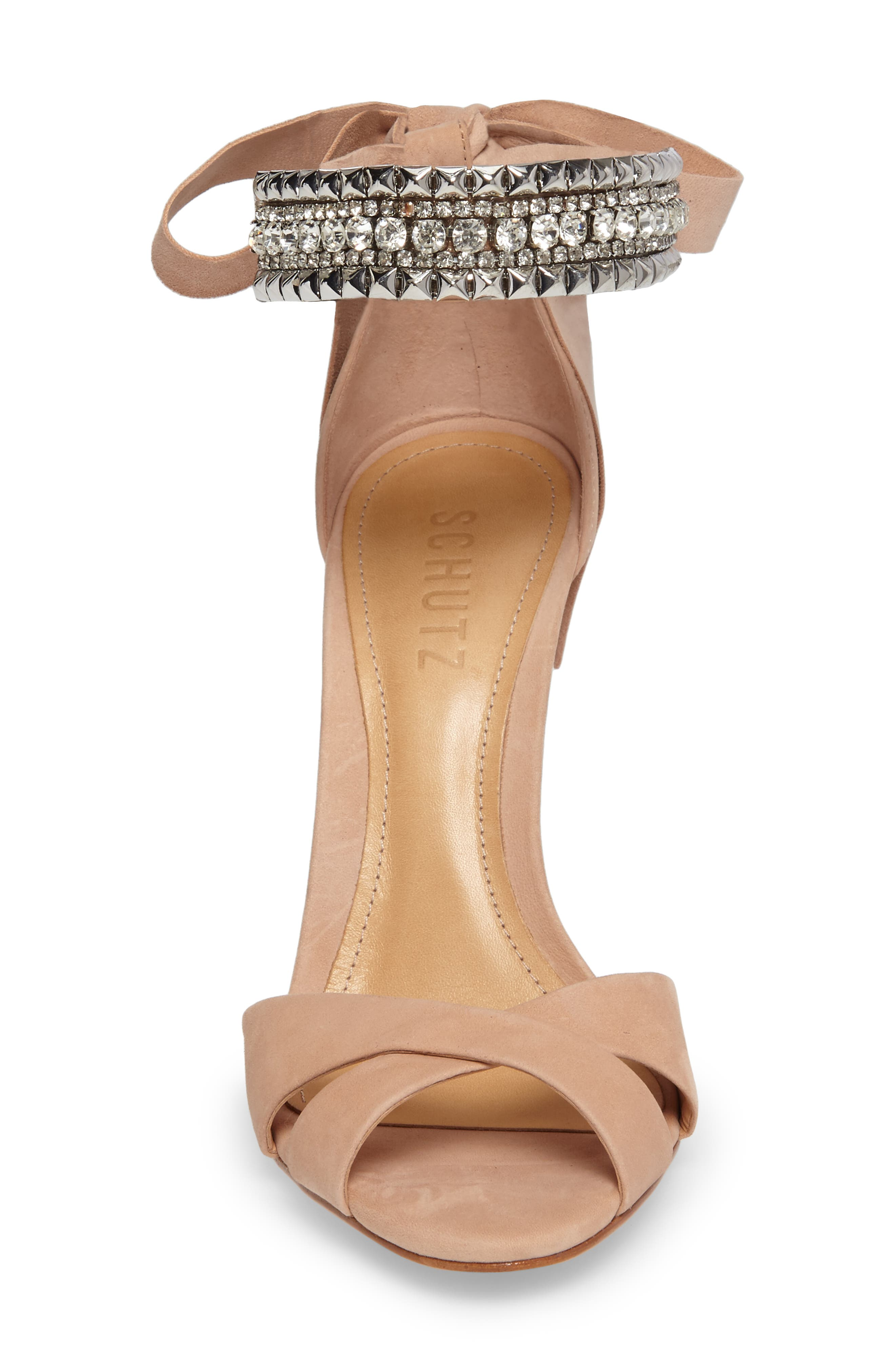 Larazee Embellished Sandal,                             Alternate thumbnail 8, color,