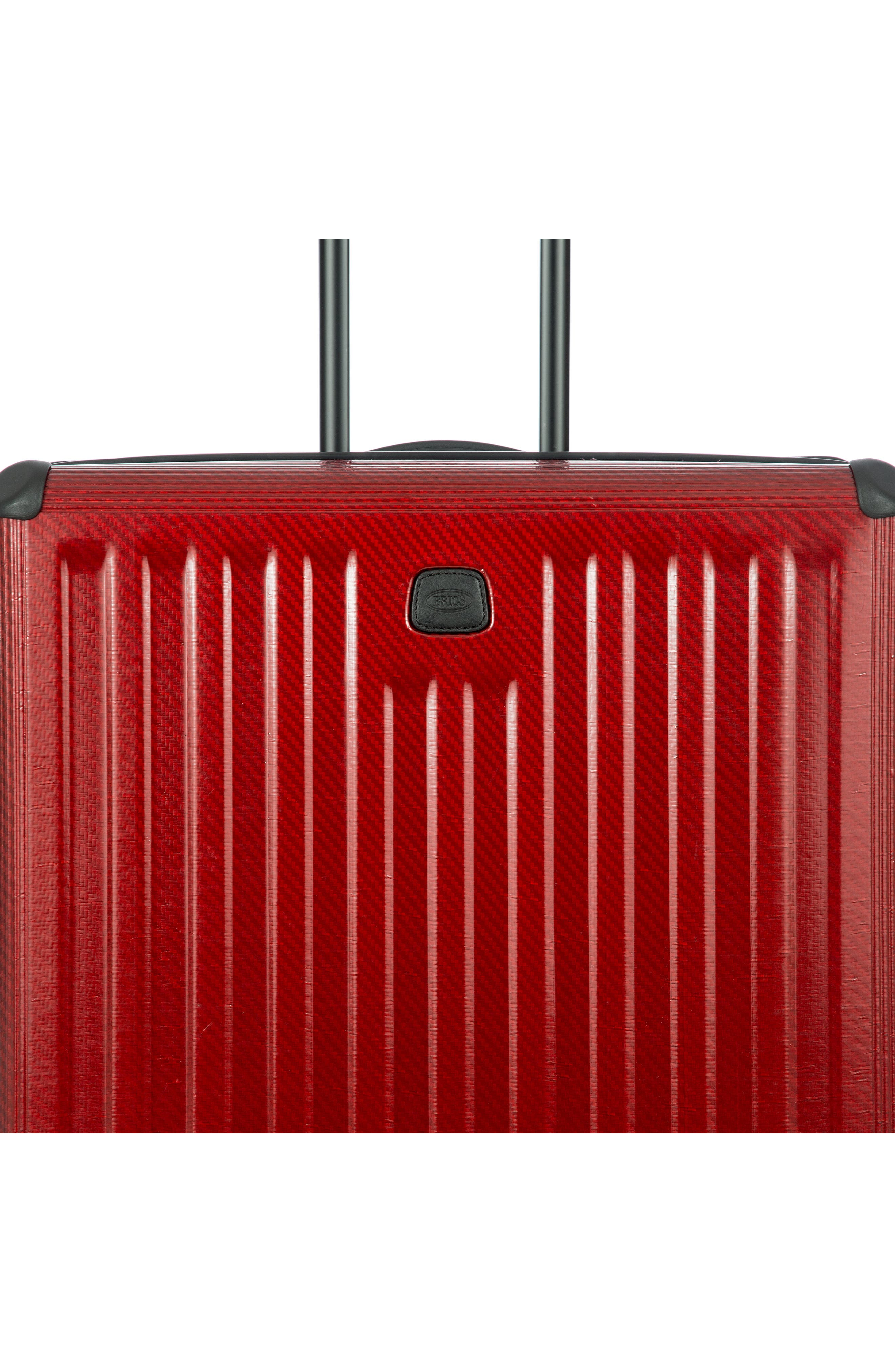 Venezia 30-Inch Hardshell Spinner Suitcase,                             Alternate thumbnail 5, color,                             RUBY