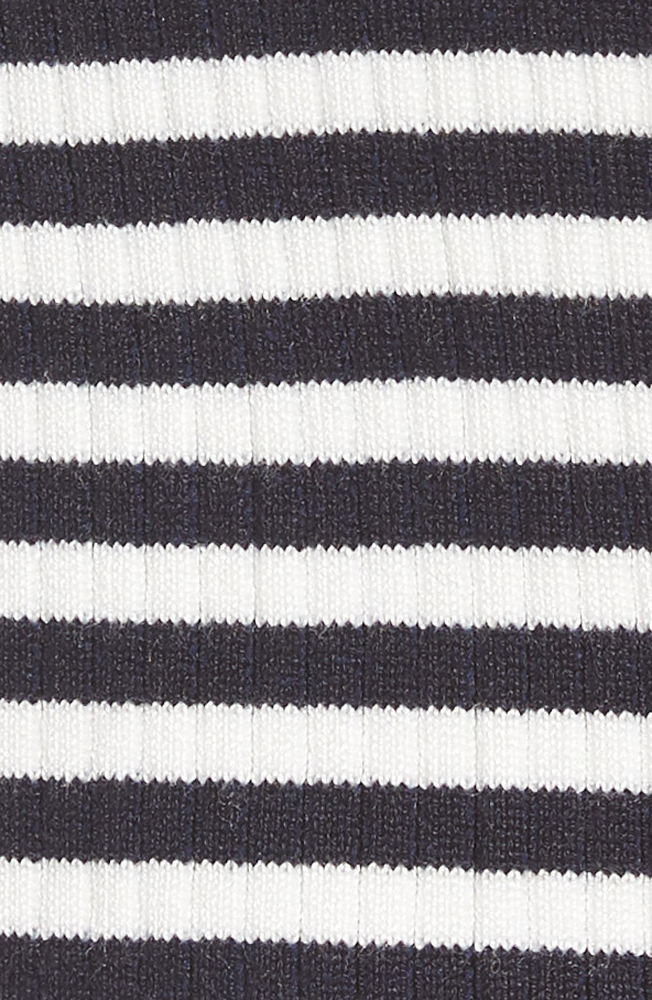 Stripe Knit Pullover,                             Alternate thumbnail 6, color,                             400