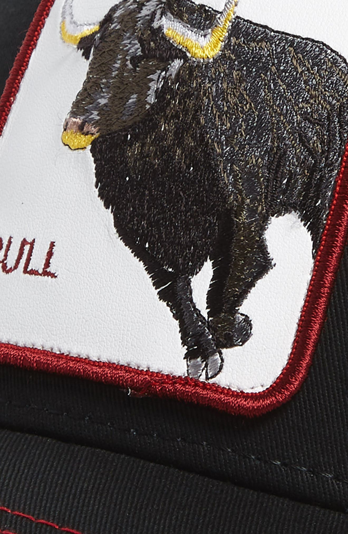 GOORIN BROTHERS,                             Bull Honky Trucker Hat,                             Alternate thumbnail 3, color,                             001