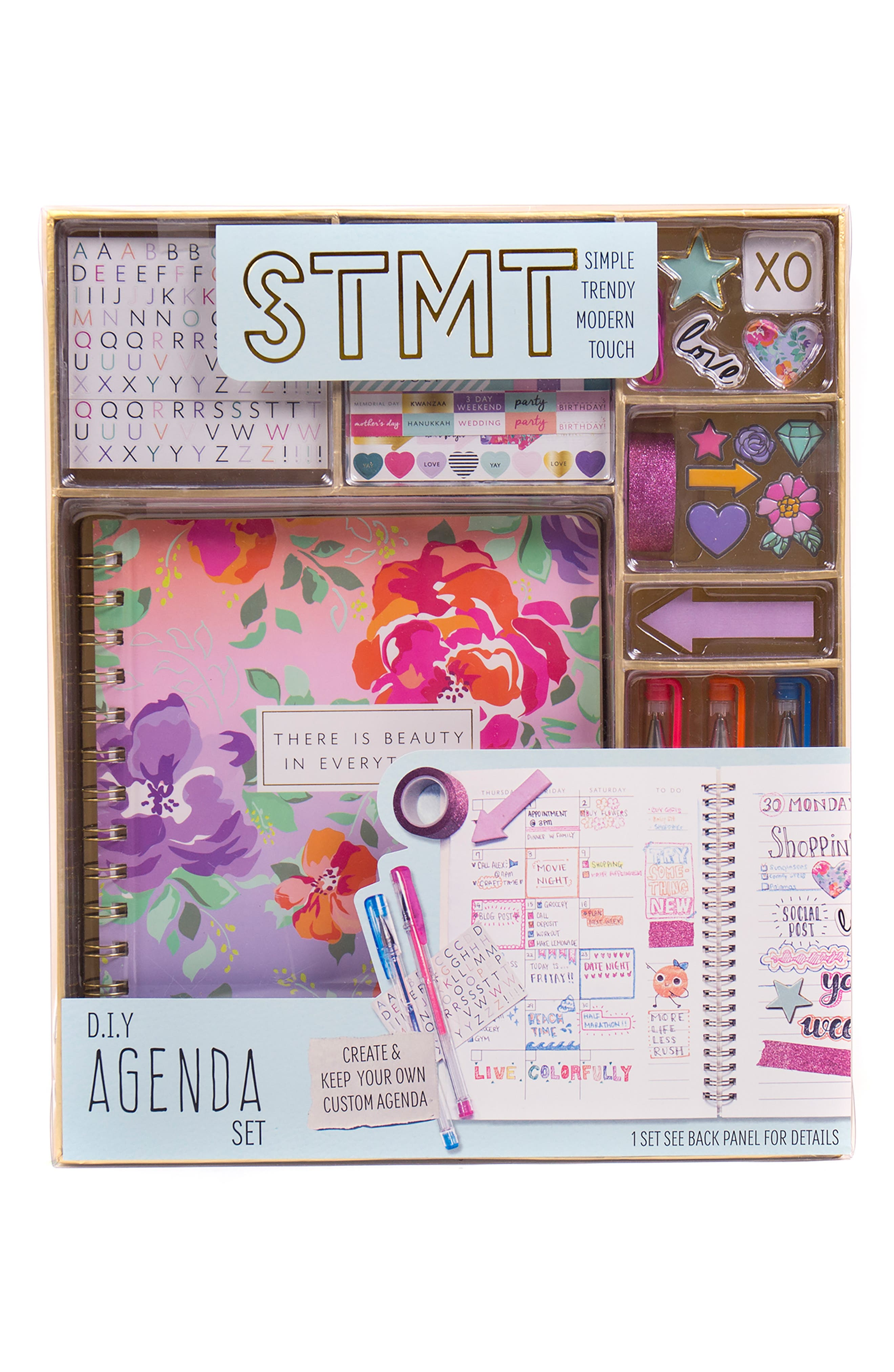 DIY Agenda Set,                             Main thumbnail 1, color,                             N/ A