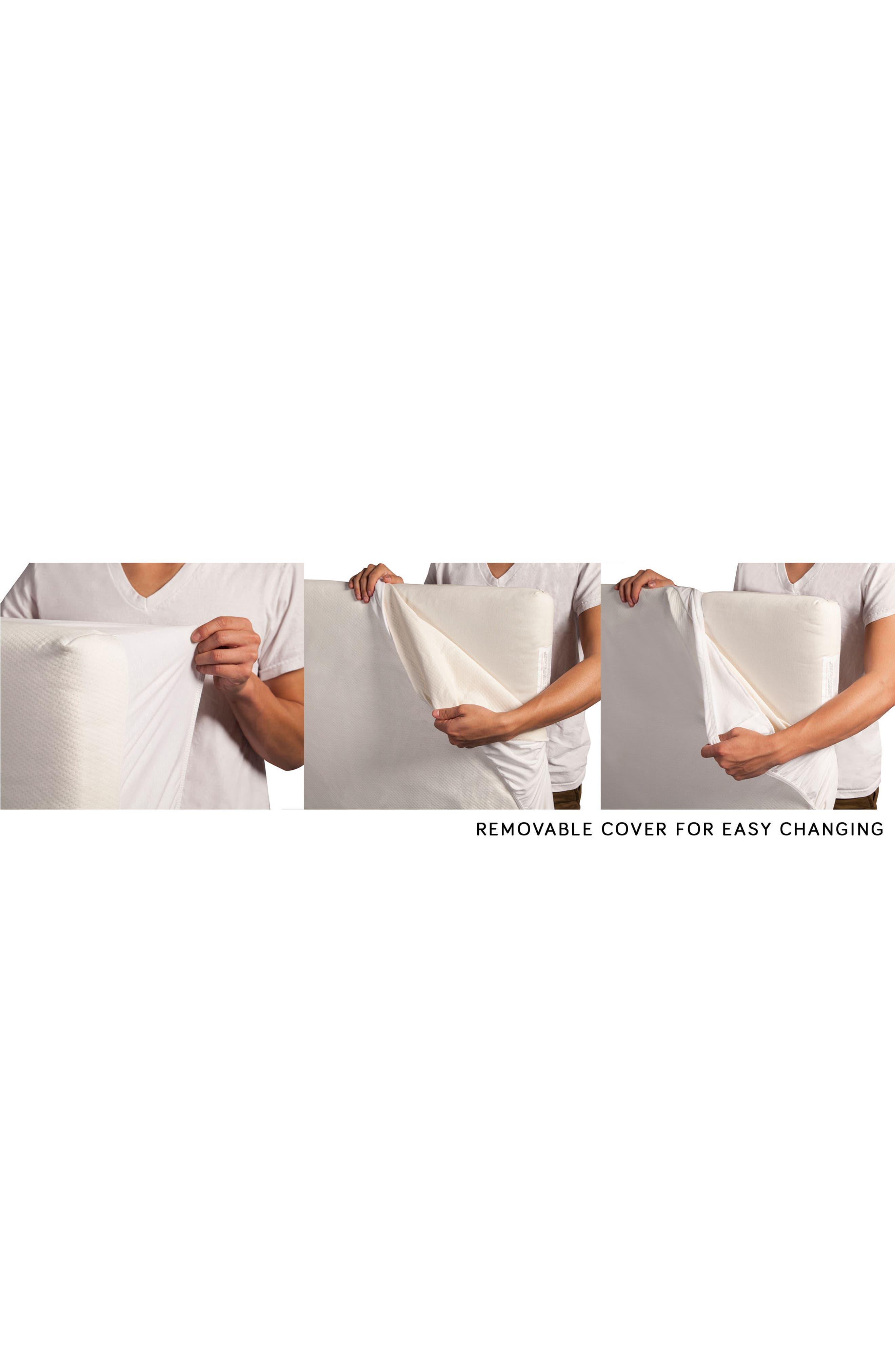 COCO Core Nontoxic Mini Crib Mattress & Water Repellent SMART Cover,                             Alternate thumbnail 4, color,                             100