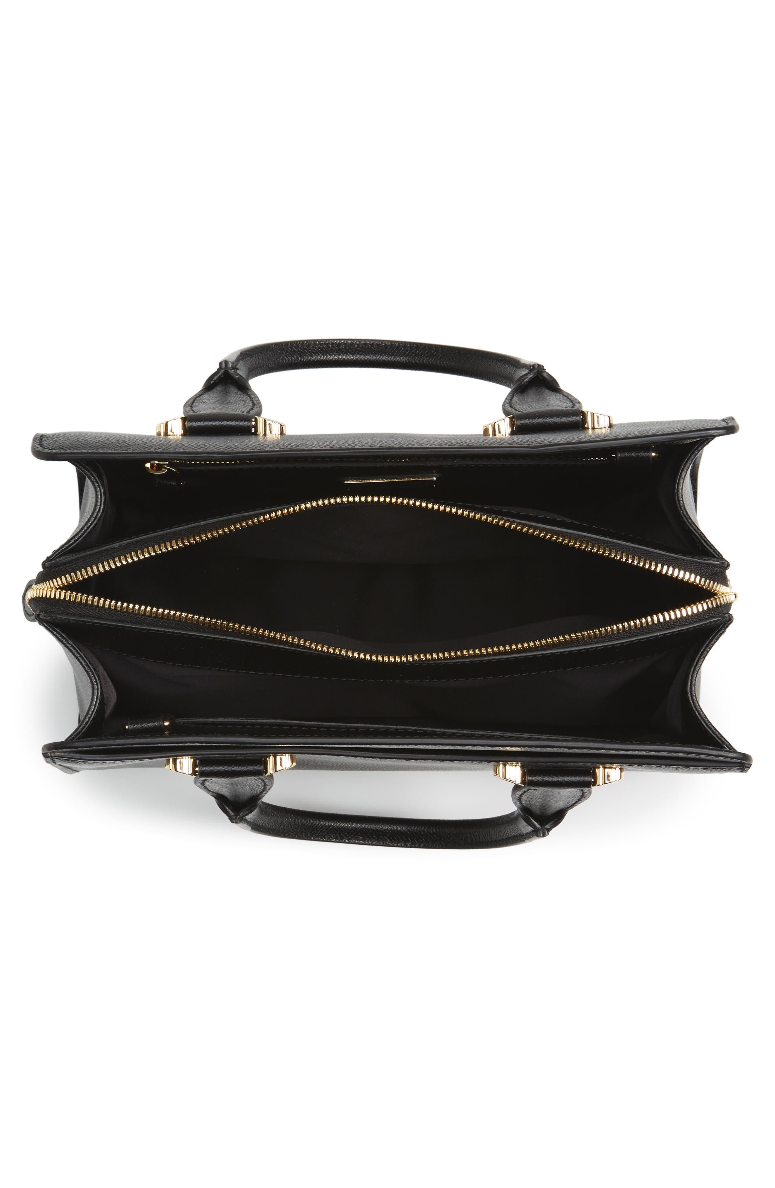 Small Today Satchel,                             Alternate thumbnail 4, color,                             NERO