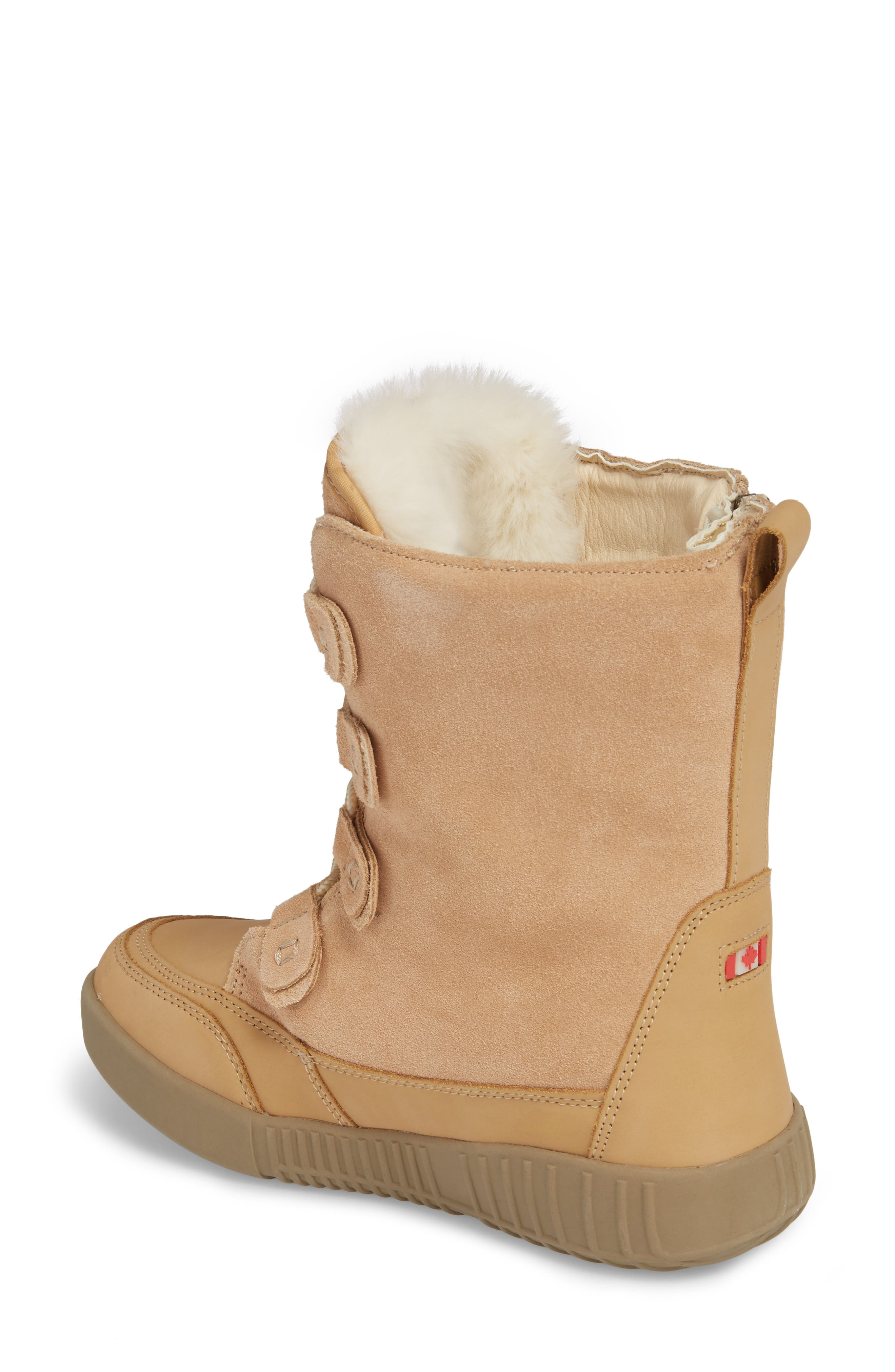 Pamina Insulated Waterproof Boot,                             Alternate thumbnail 4, color,