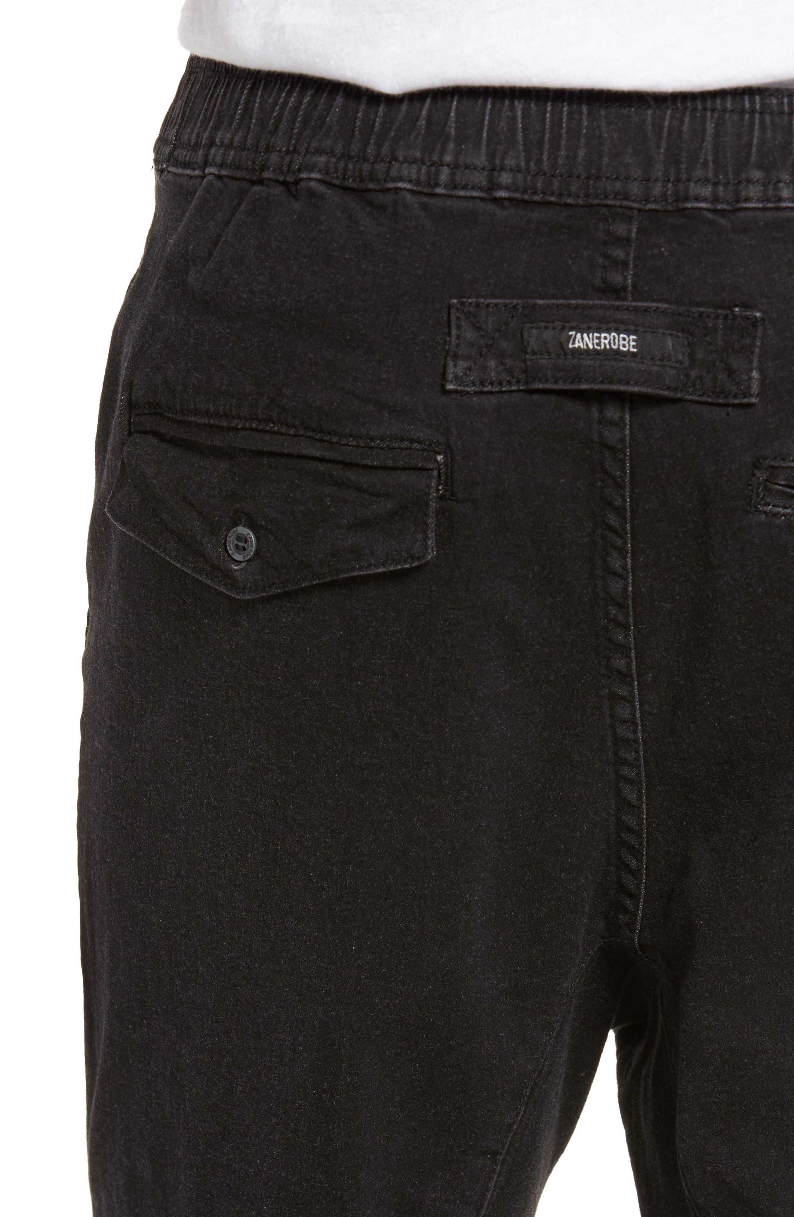 Sureshot Chino Shorts,                             Alternate thumbnail 4, color,                             BLACK WASH