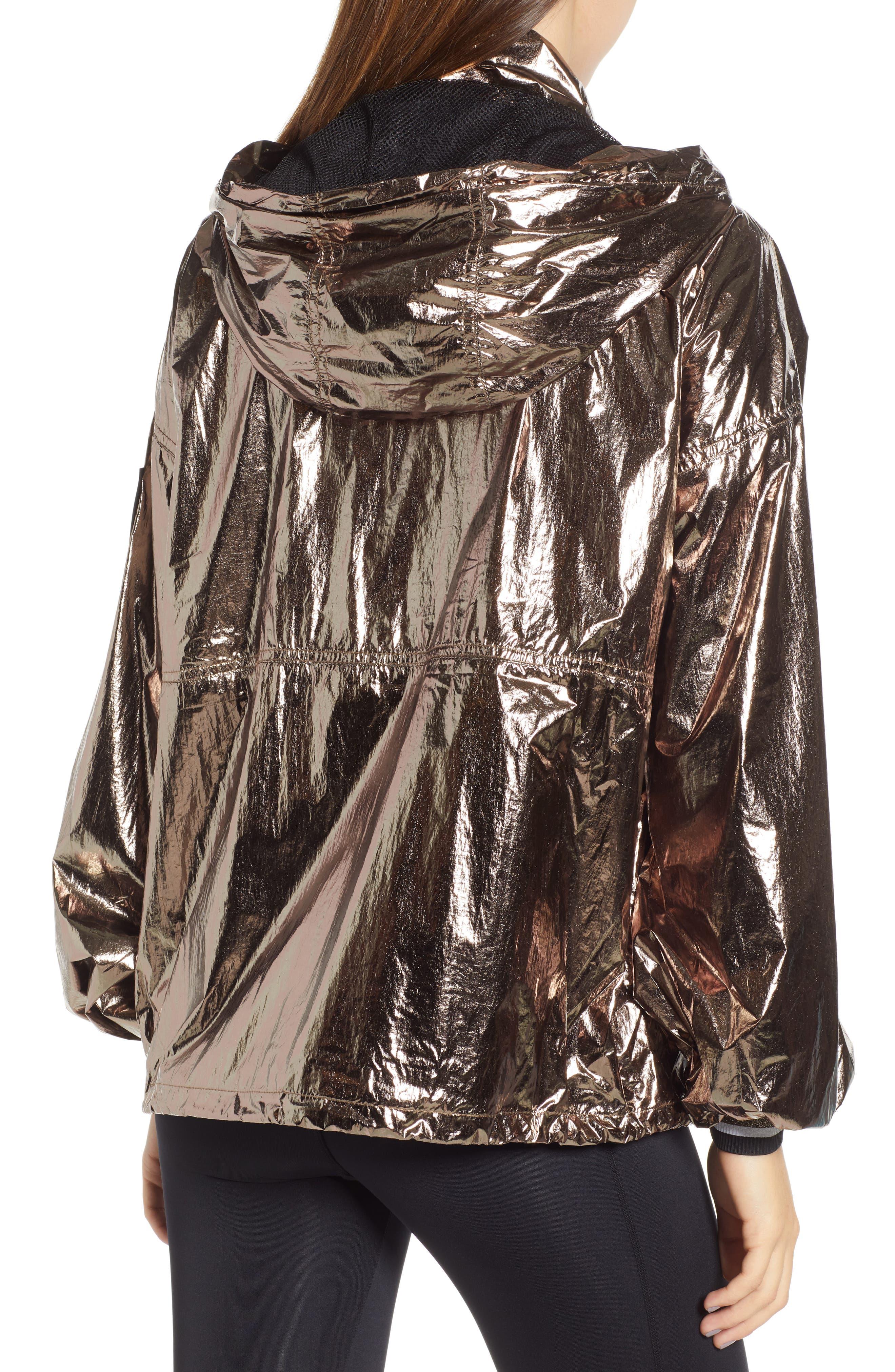 Metallic Half Zip Pullover,                             Alternate thumbnail 2, color,                             200