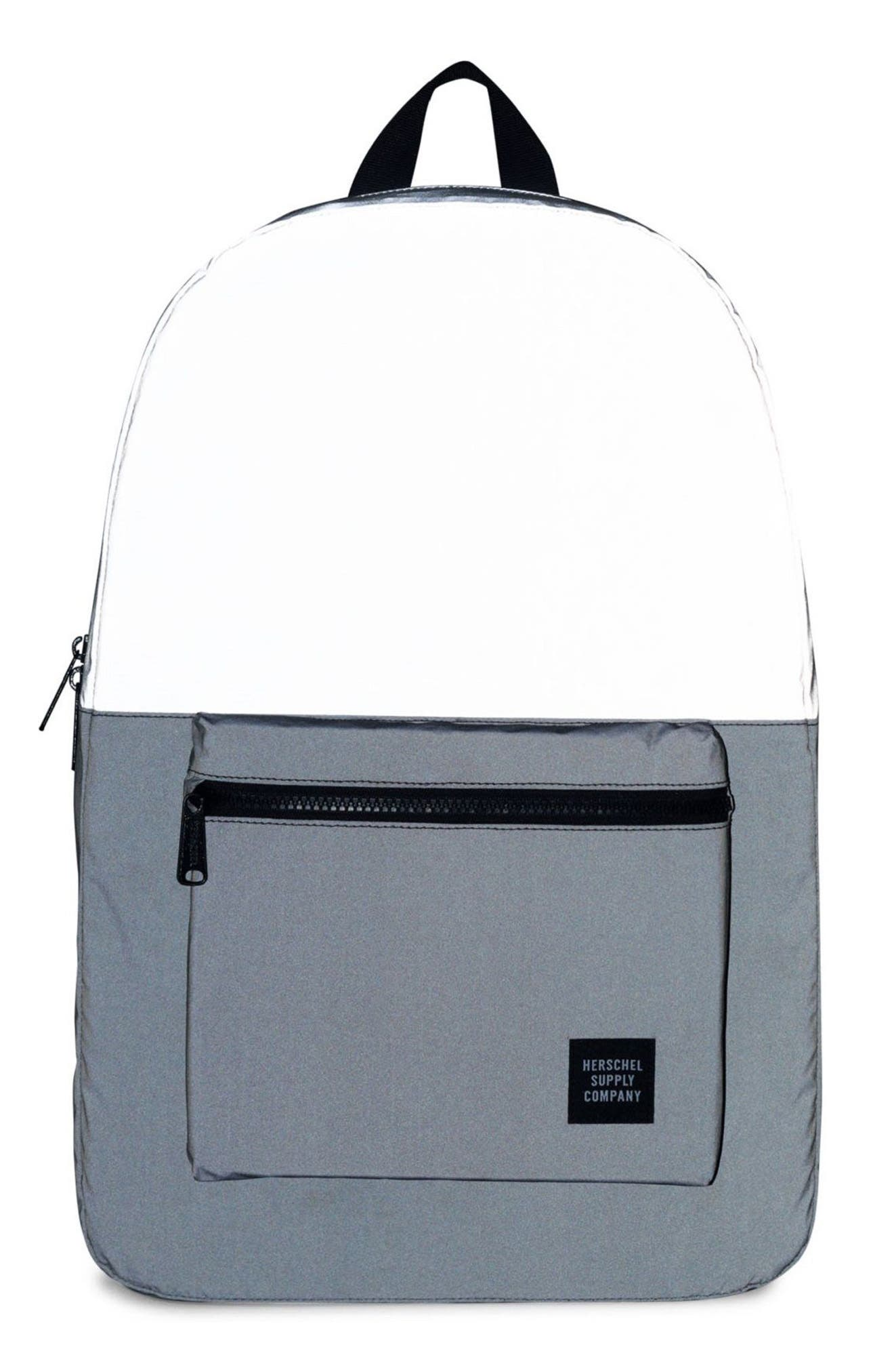 Heritage Reflective Backpack,                             Alternate thumbnail 4, color,                             050