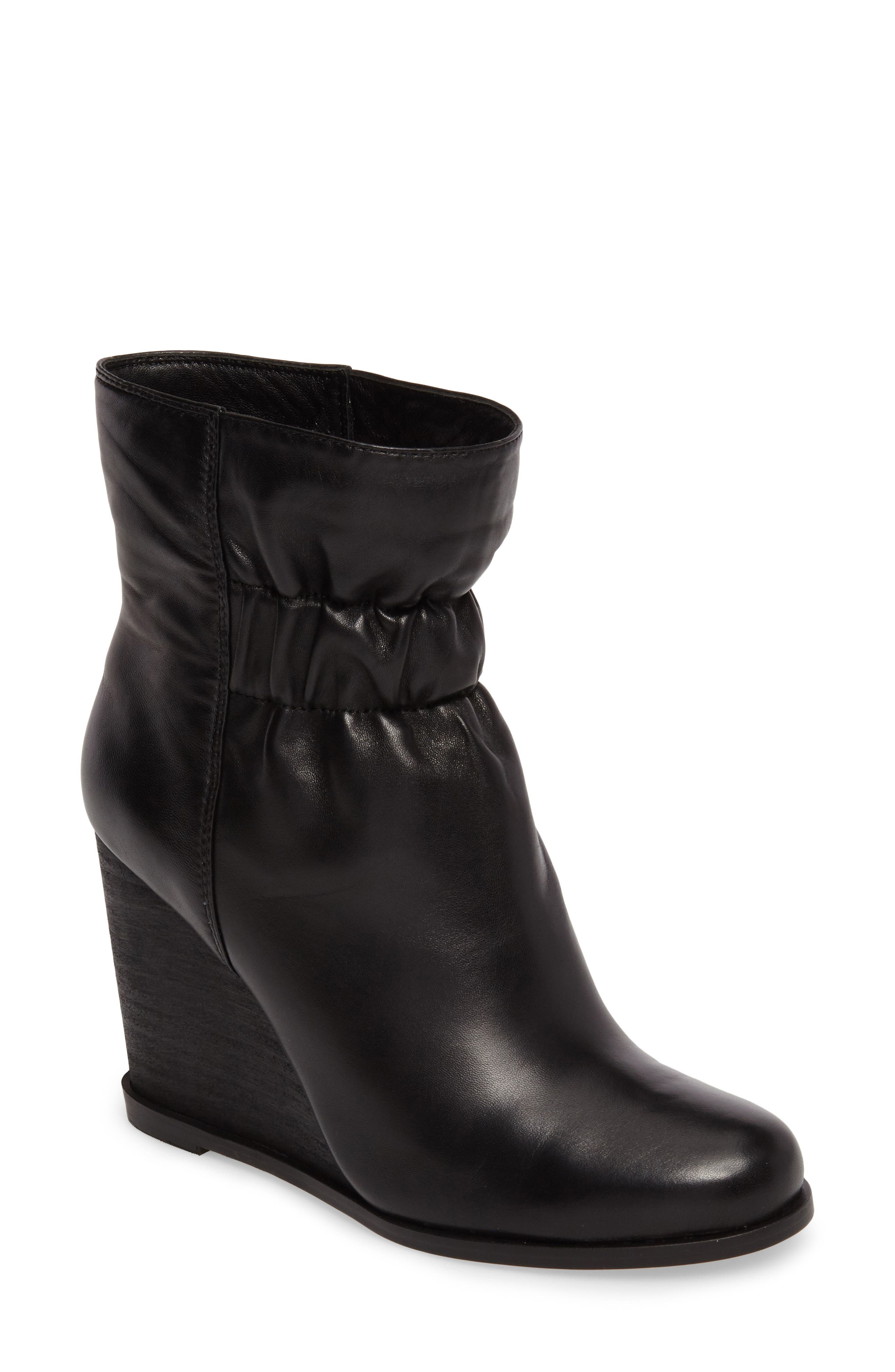 Rebecca Wedge Bootie,                             Main thumbnail 1, color,                             002