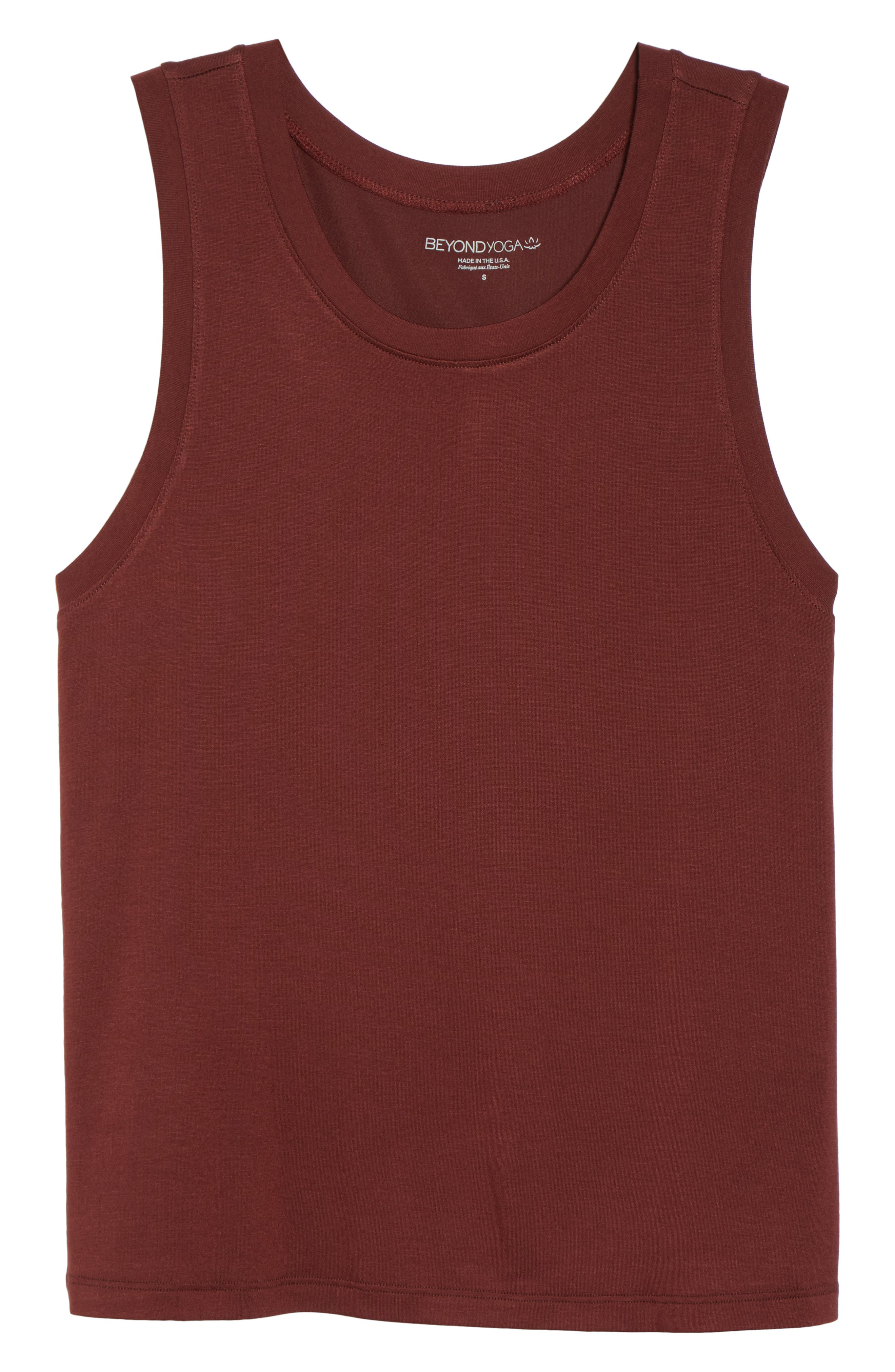 Balance Muscle Tank,                             Alternate thumbnail 7, color,                             RED ROCK