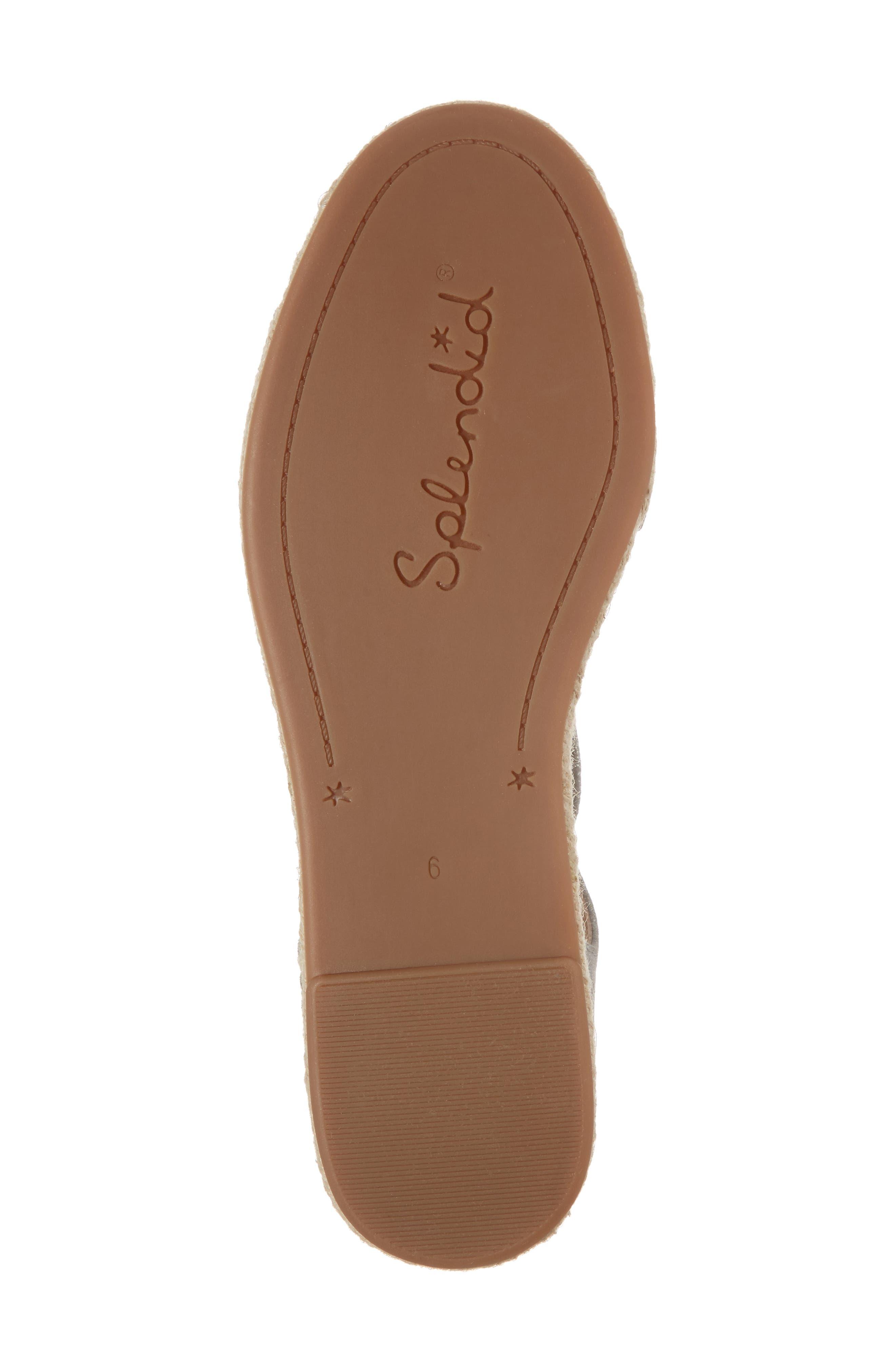 Fernanda Wraparound Platform Sandal,                             Alternate thumbnail 6, color,                             SILVER SUEDE