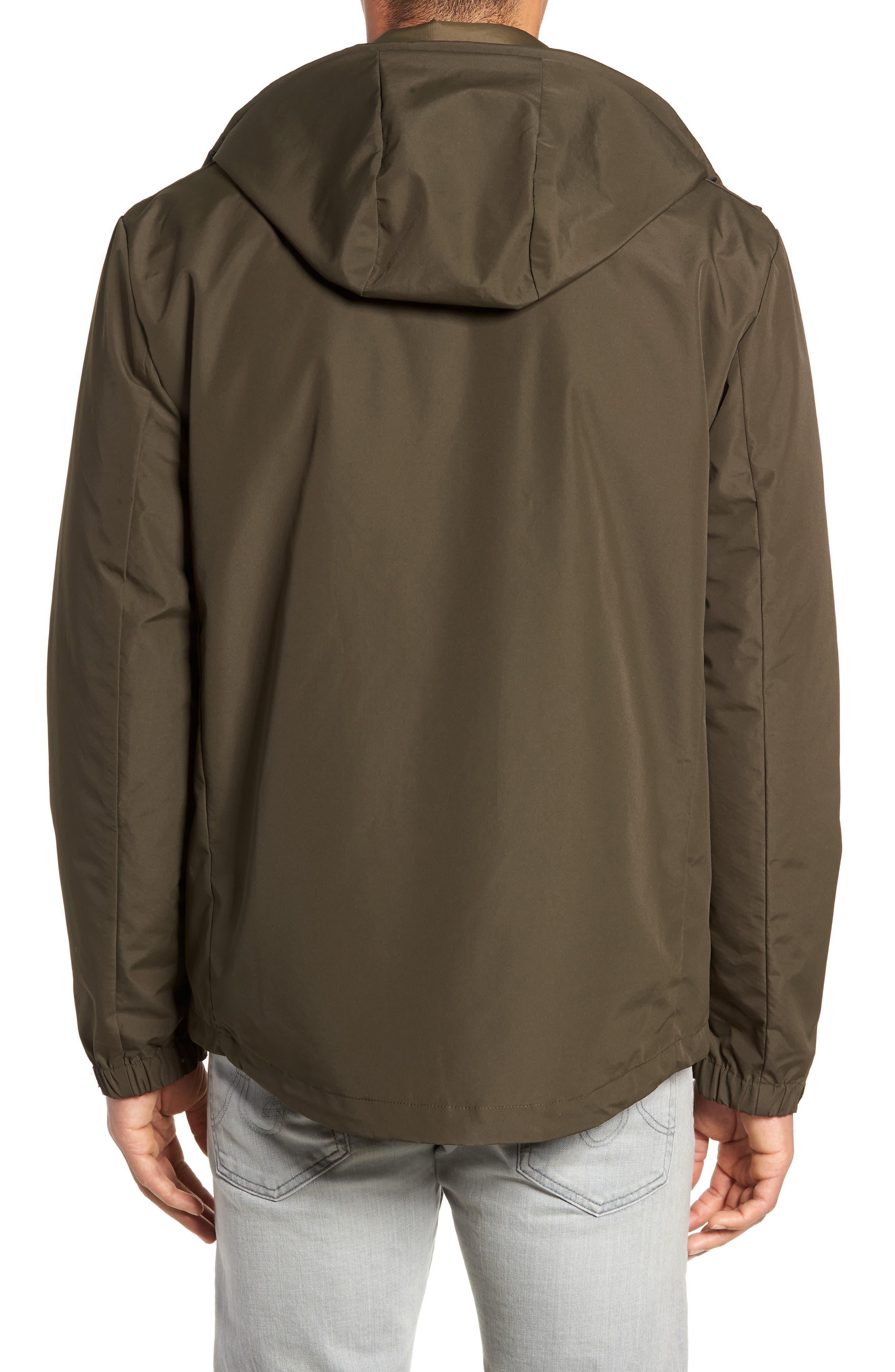 3-in-1 Rain Jacket,                             Alternate thumbnail 3, color,                             OLIVE