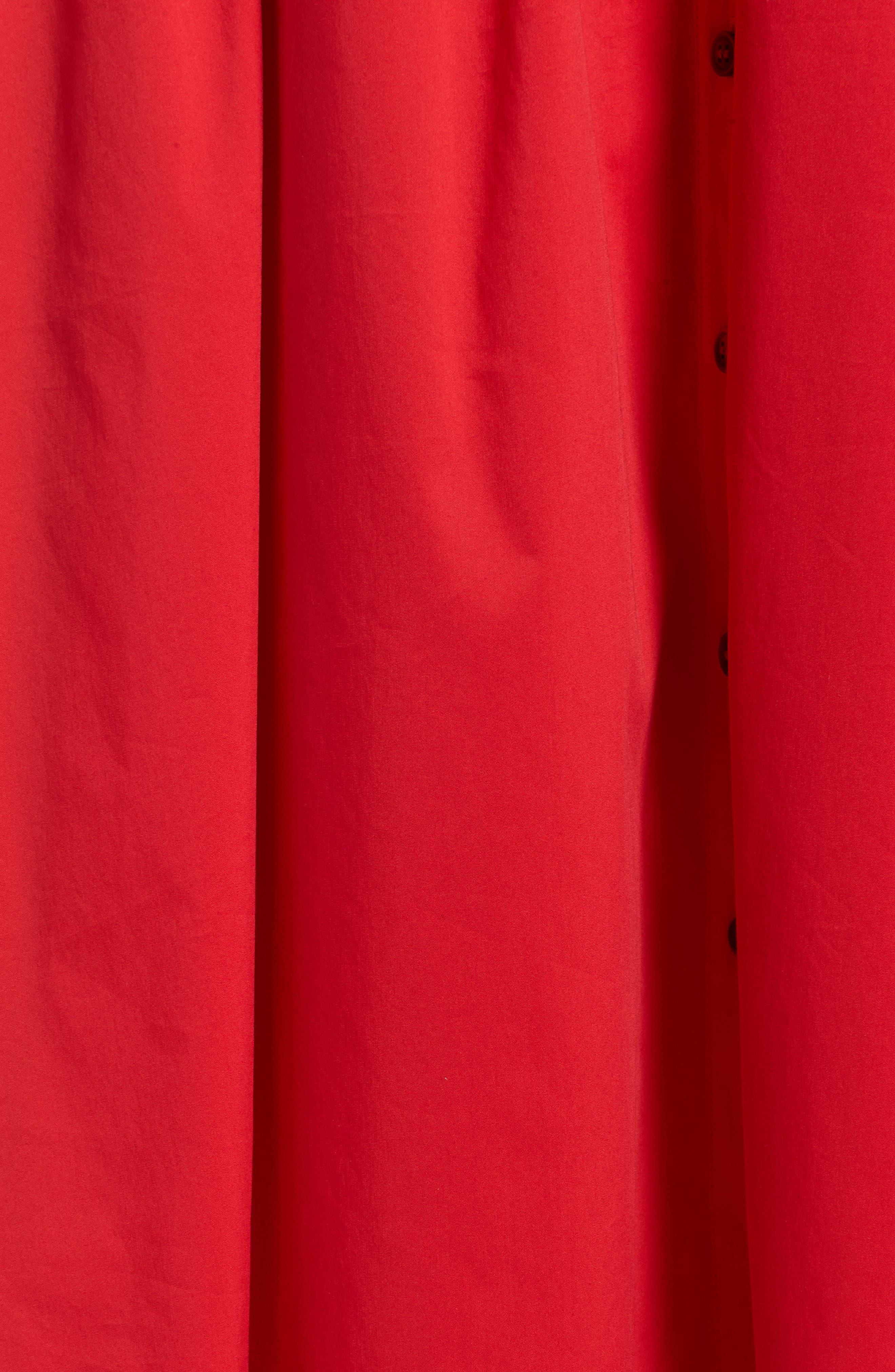 Midi Shirtdress,                             Alternate thumbnail 16, color,