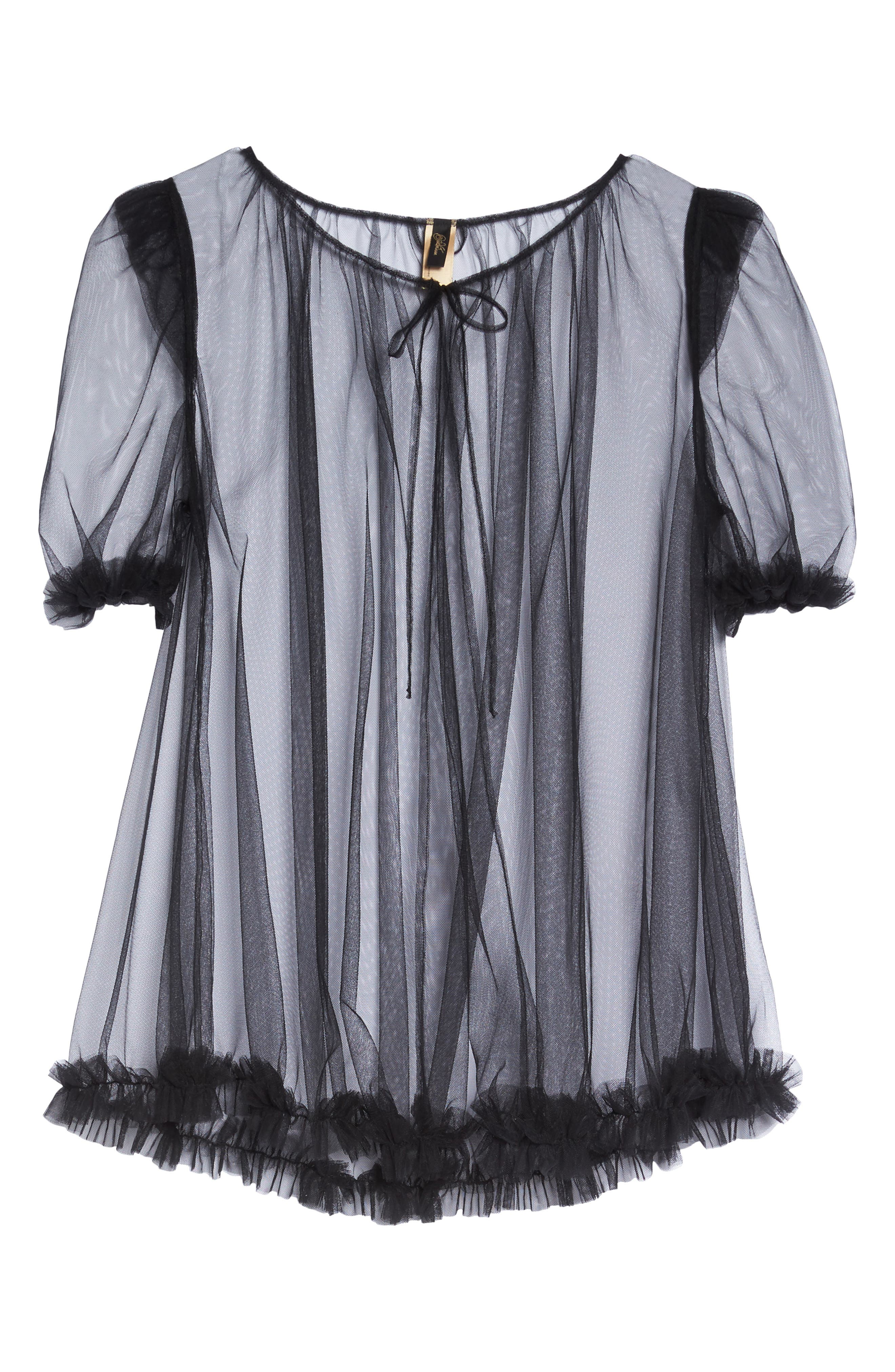 Vintage Sheer Cape,                             Alternate thumbnail 6, color,