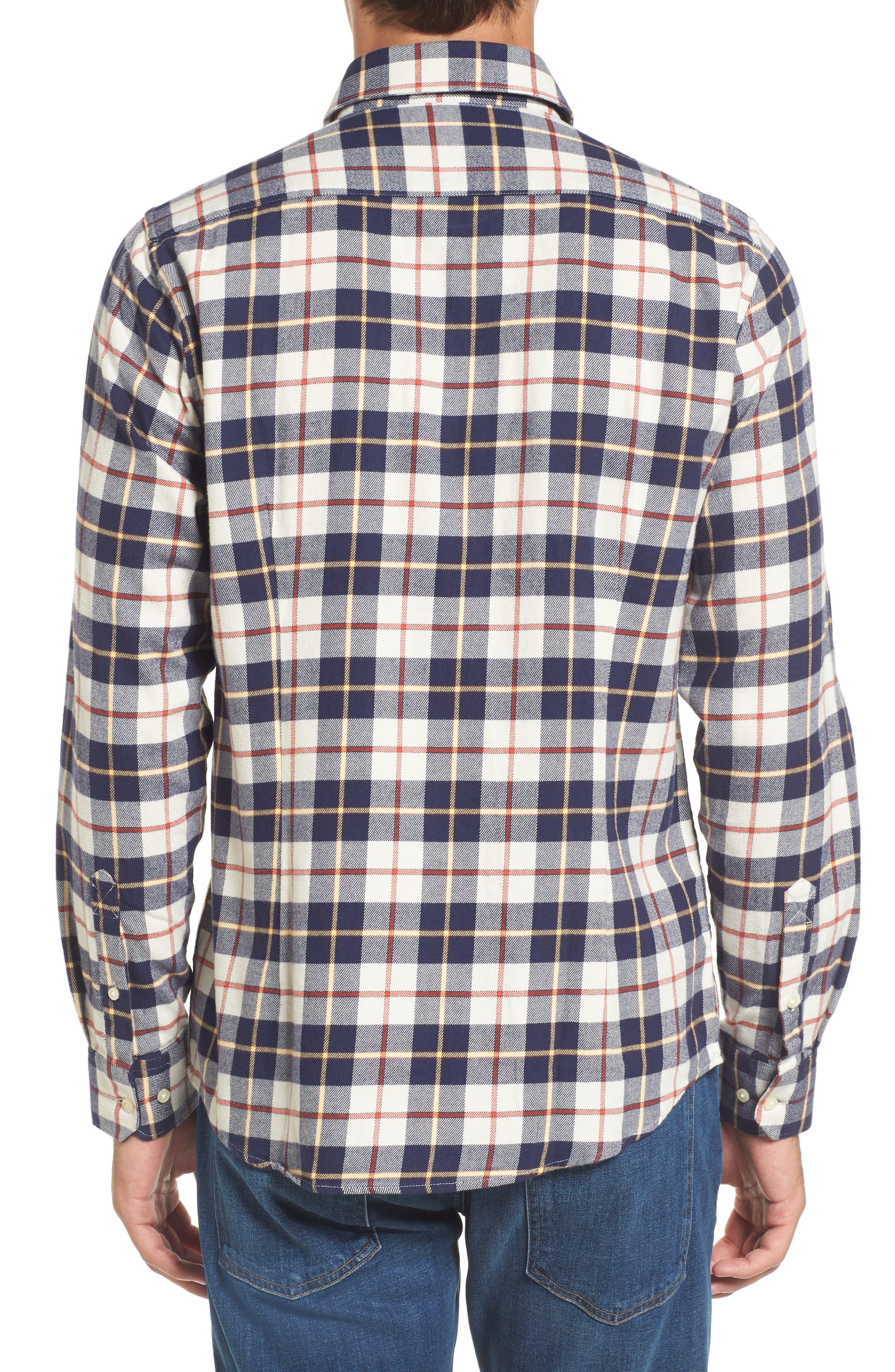 Blake Plaid Sport Shirt,                             Alternate thumbnail 2, color,                             270