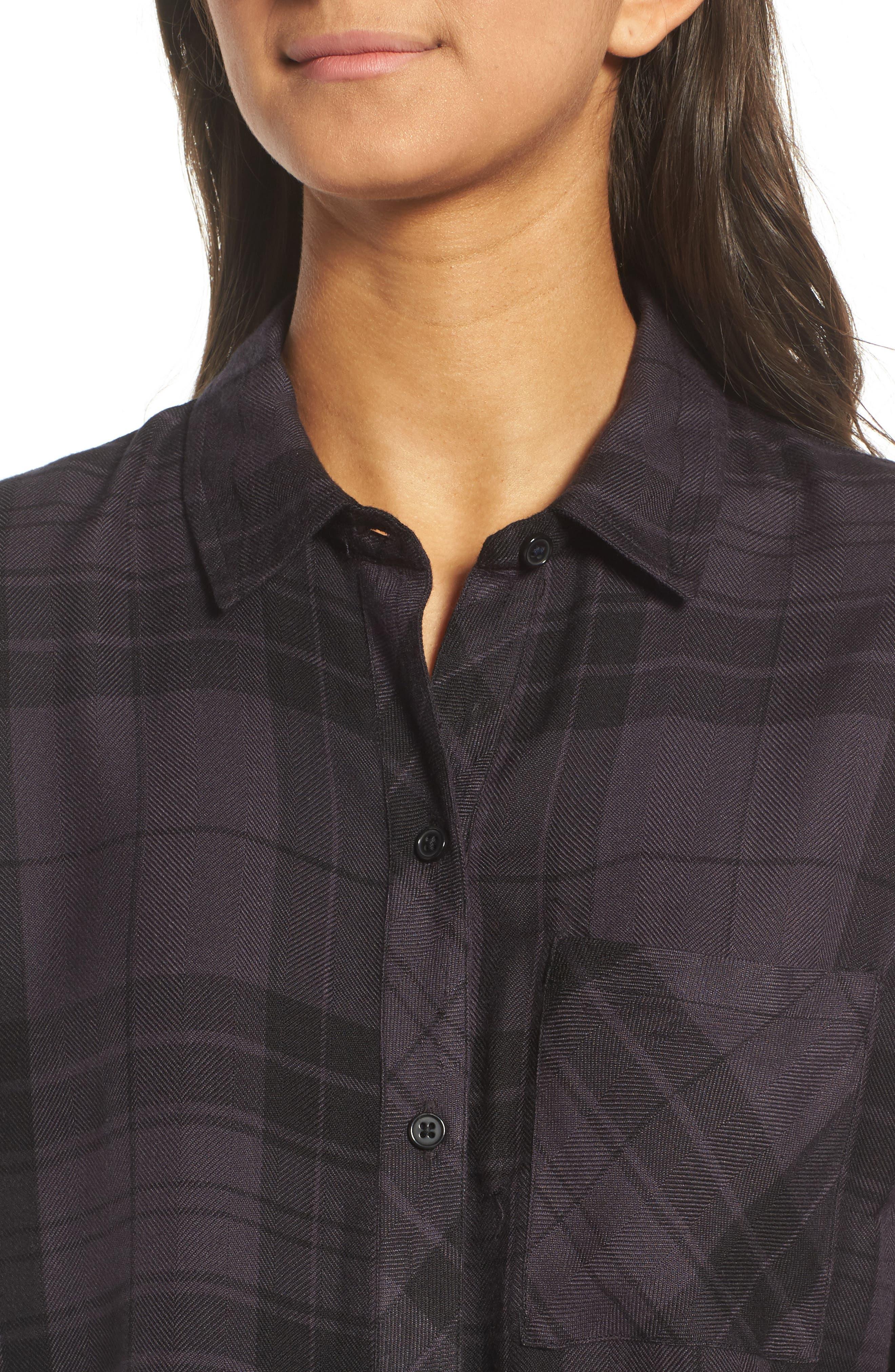 Hunter Plaid Shirt,                             Alternate thumbnail 507, color,