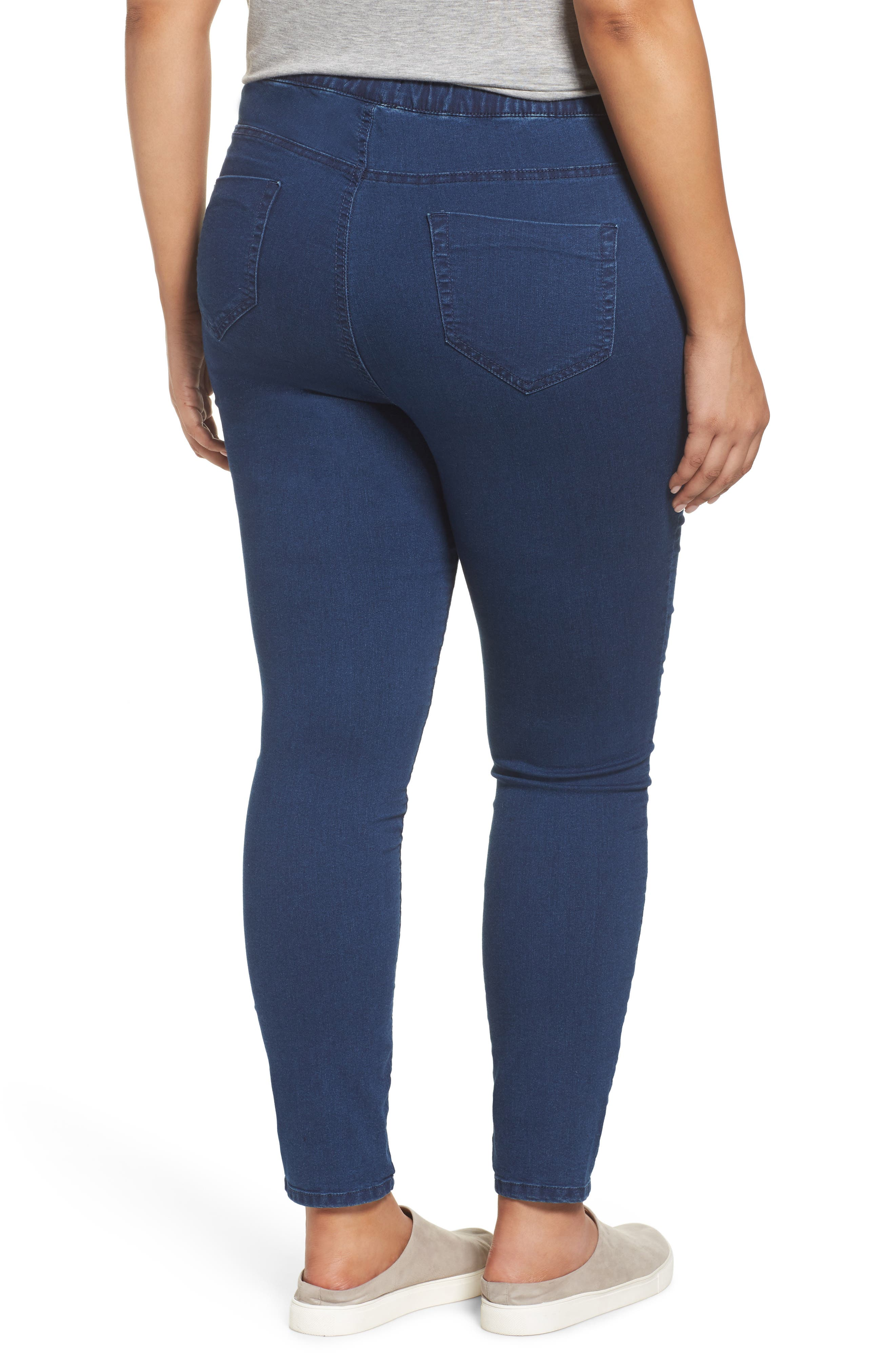 Denim Leggings,                             Alternate thumbnail 2, color,
