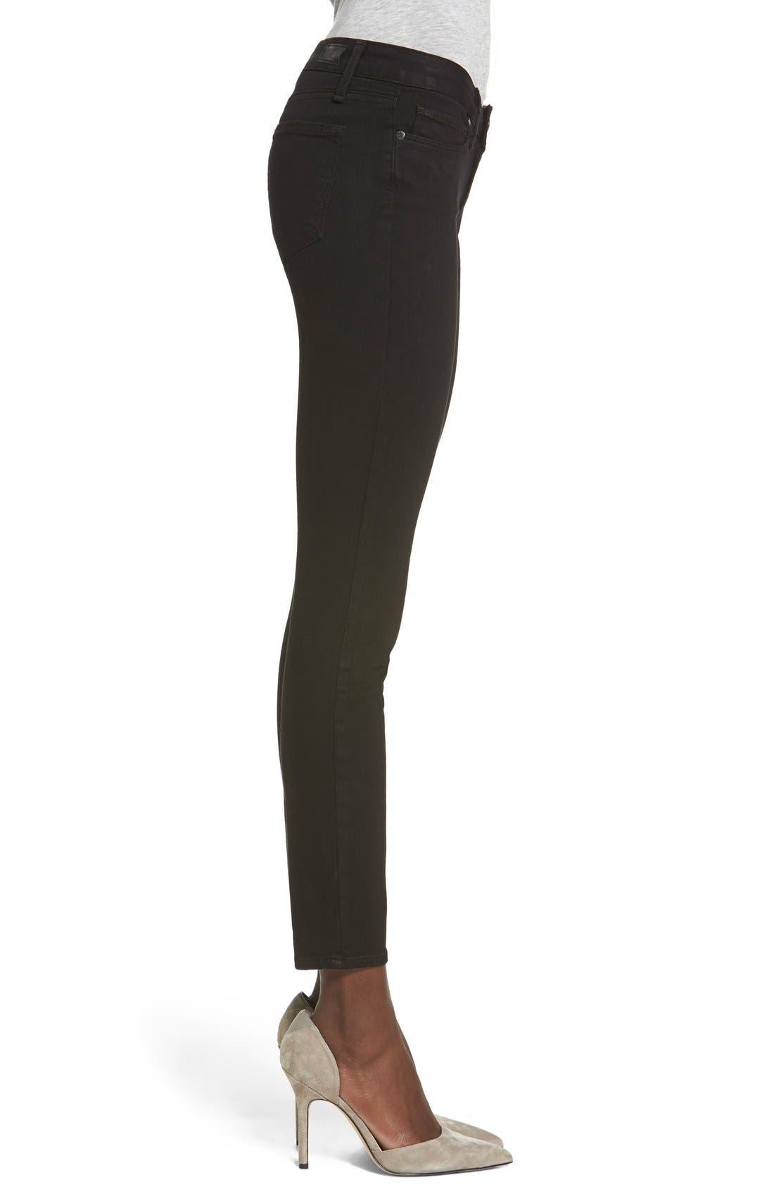 Transcend - Verdugo Ankle Ultra Skinny Jeans,                             Alternate thumbnail 10, color,                             BLACK SHADOW